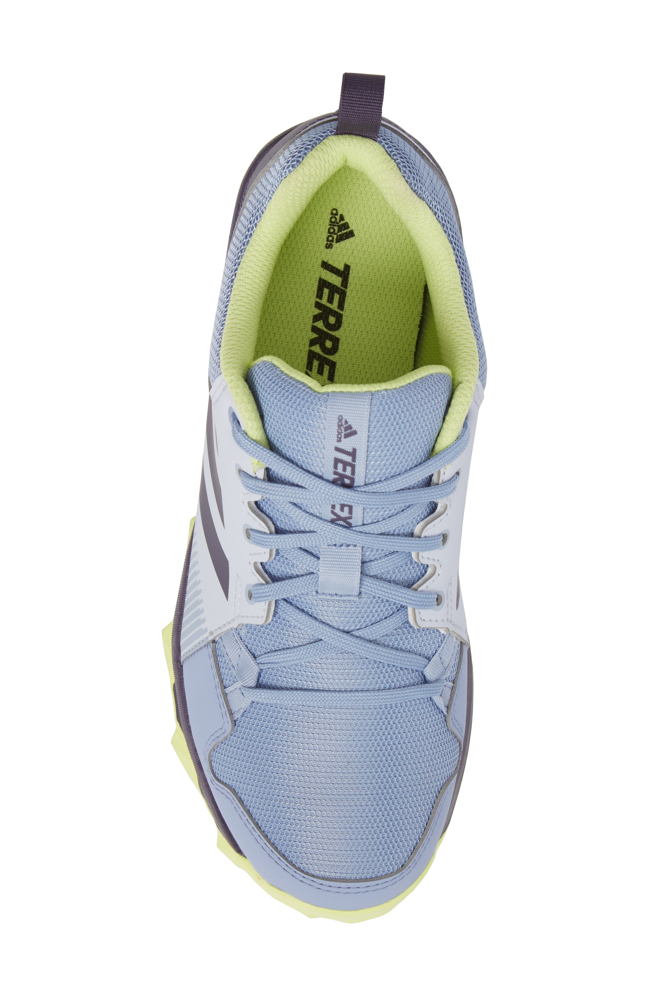 'Tracerocker' Athletic Shoe,                             Alternate thumbnail 5, color,                             Aero Blue/ Purple/ Yellow
