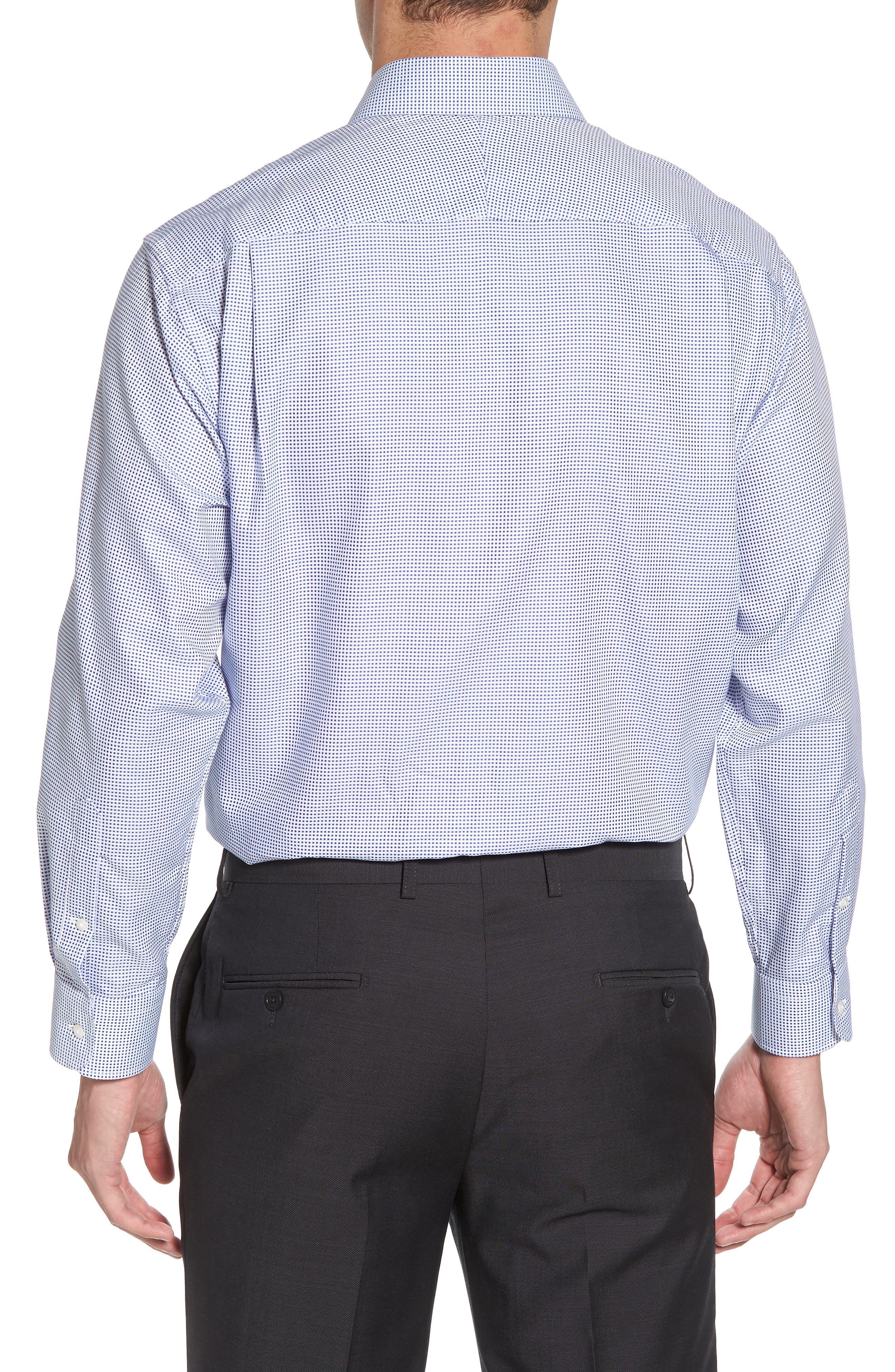 Alternate Image 2  - Nordstrom Men's Shop Classic Fit Microcheck Dress Shirt