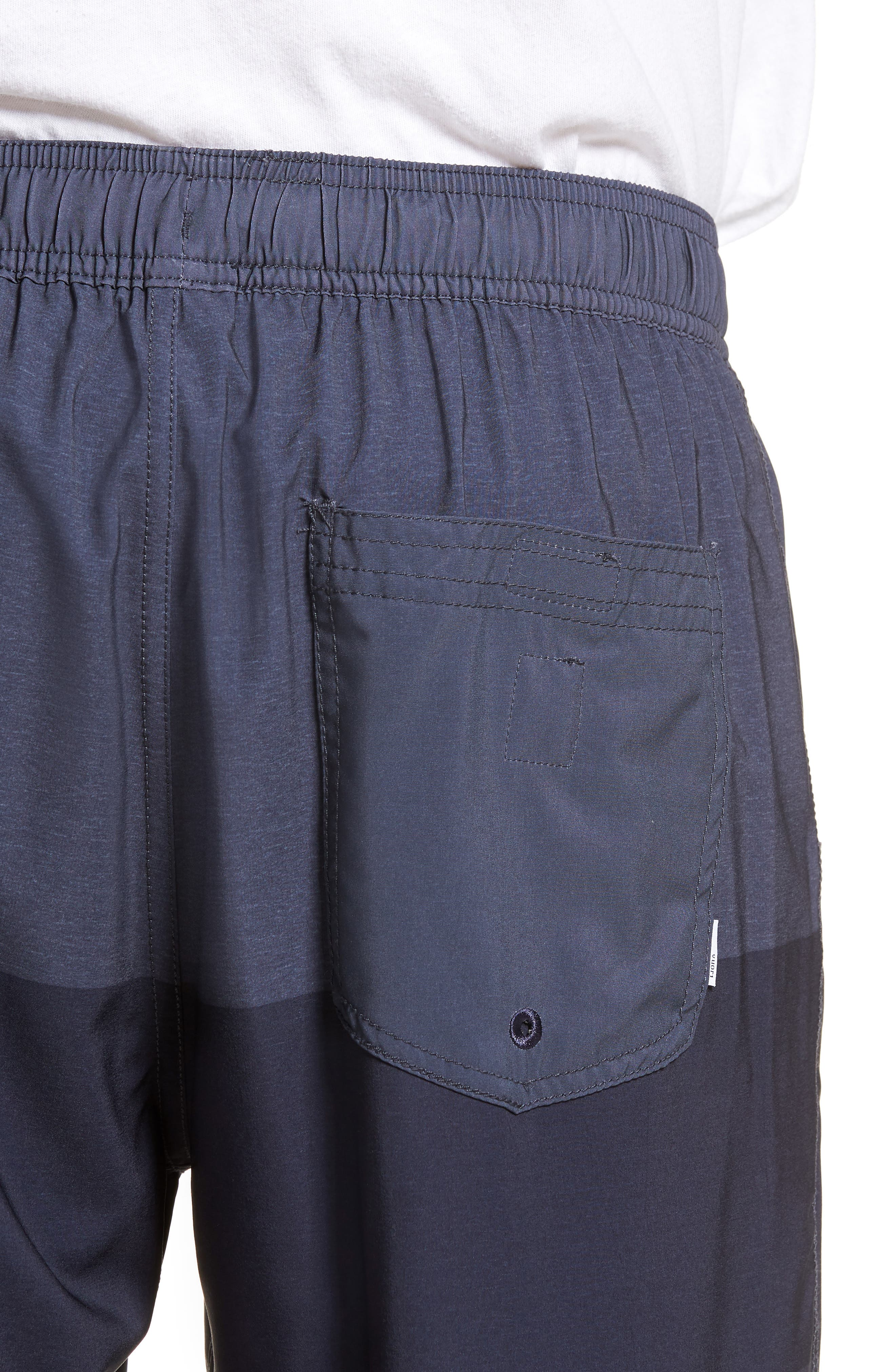 Kore Shorts,                             Alternate thumbnail 4, color,                             Navy Texture Block