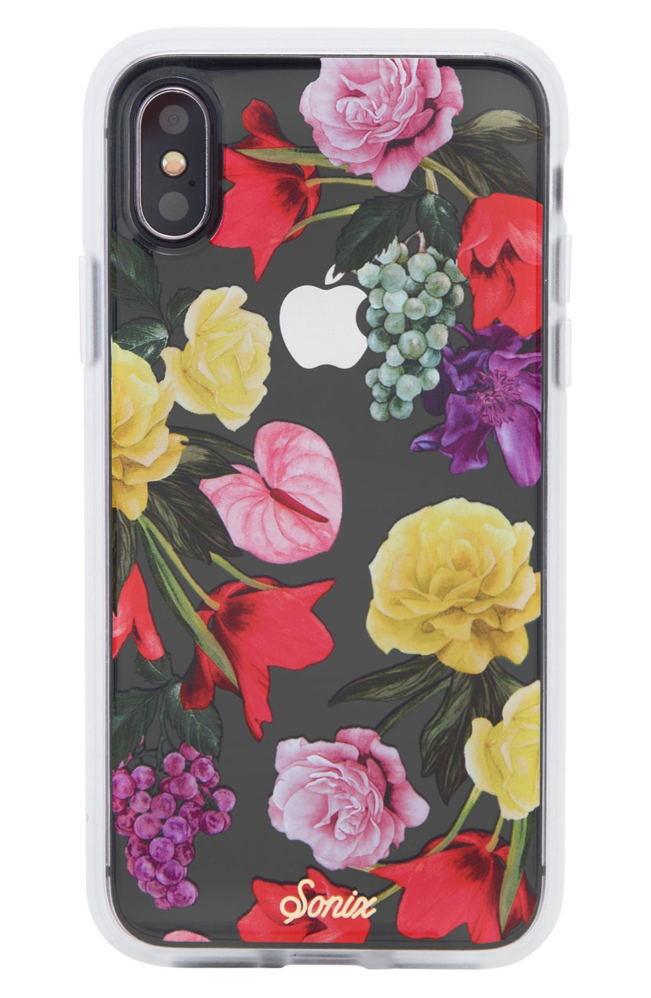 Betty Bloom iPhone X Case,                             Main thumbnail 1, color,                             Multi