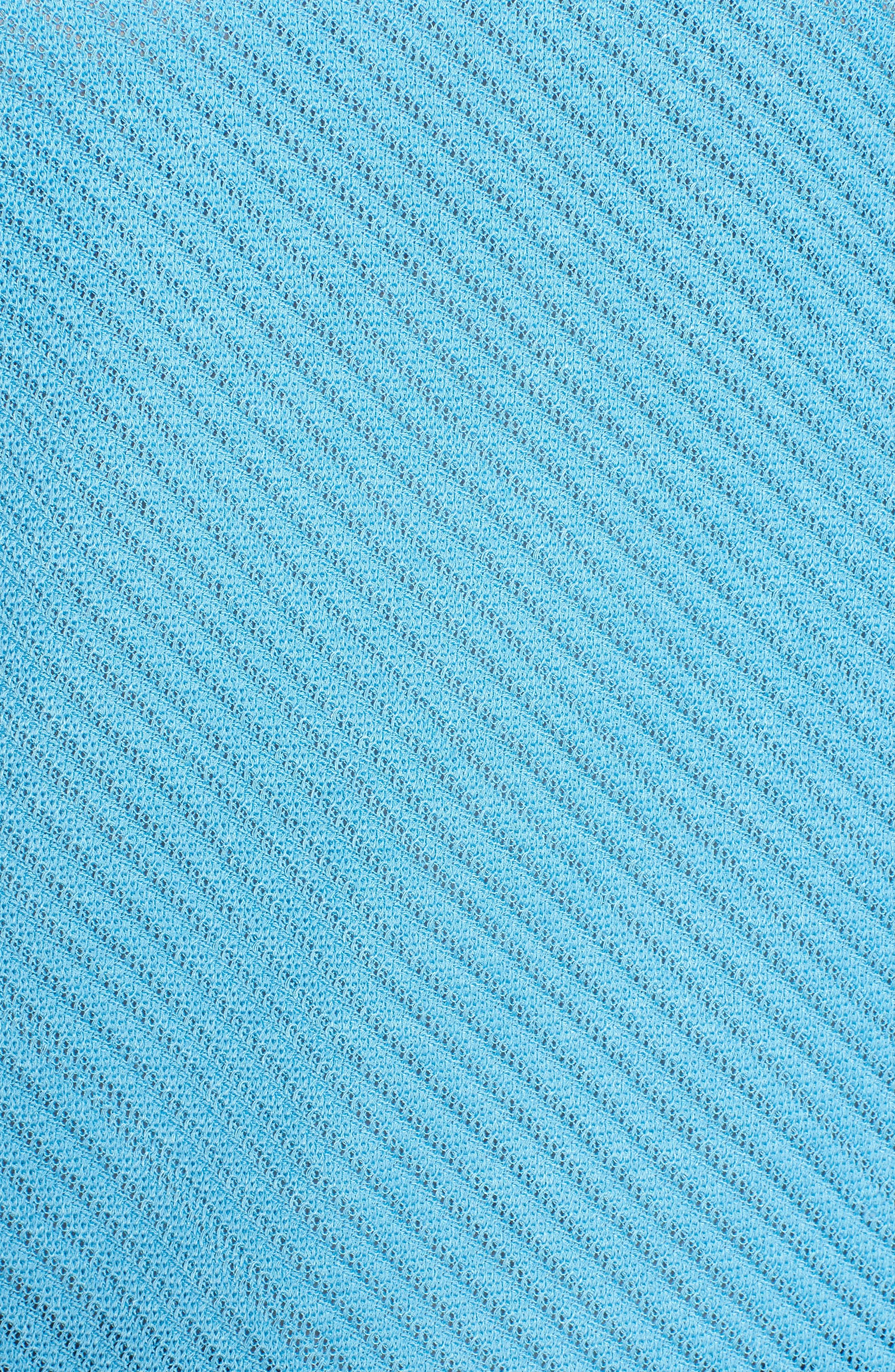 Scoop Neck Knit Tank,                             Alternate thumbnail 5, color,                             Bluebonnet