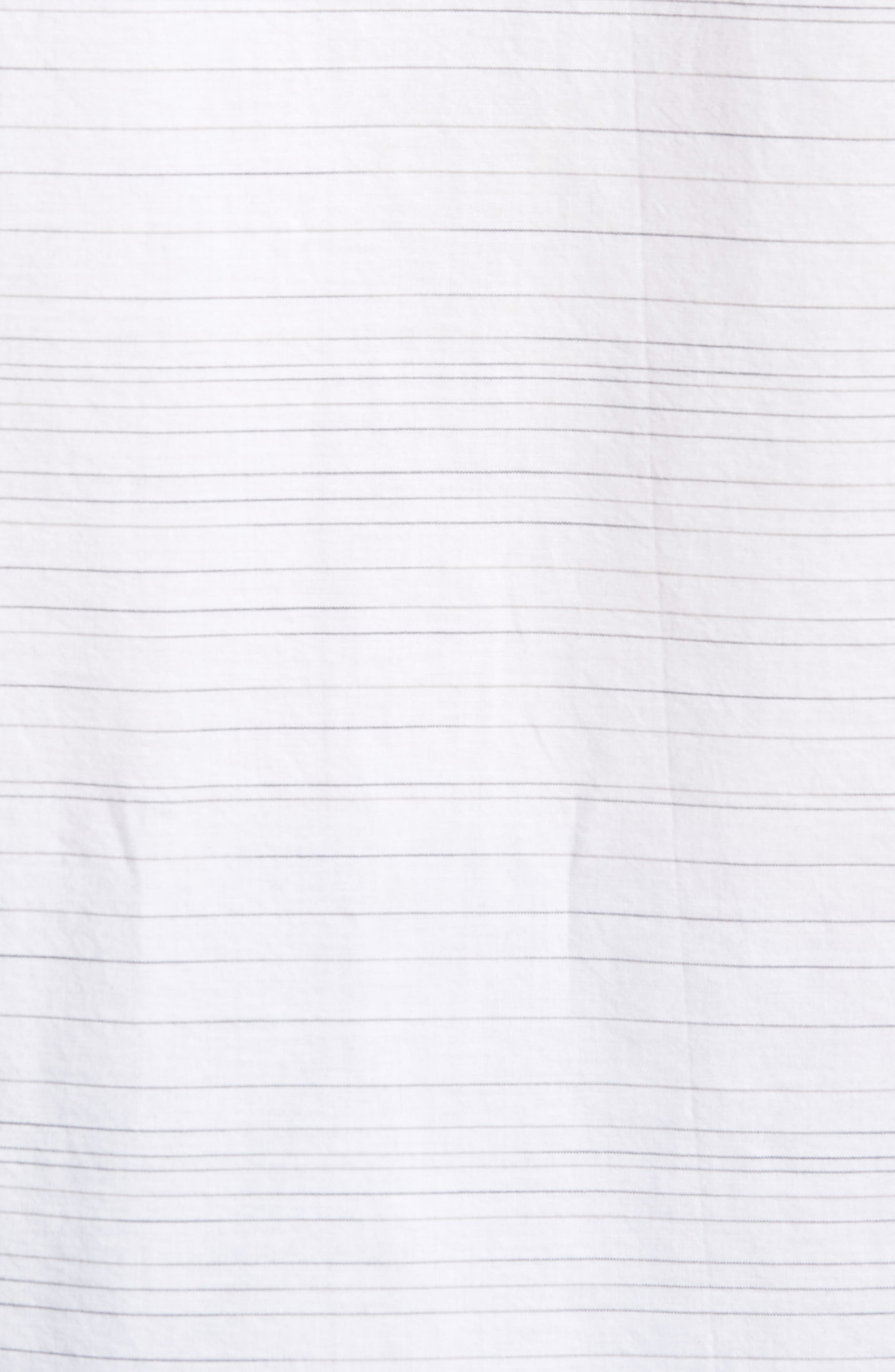 Hound Woven Shirt,                             Alternate thumbnail 5, color,                             White
