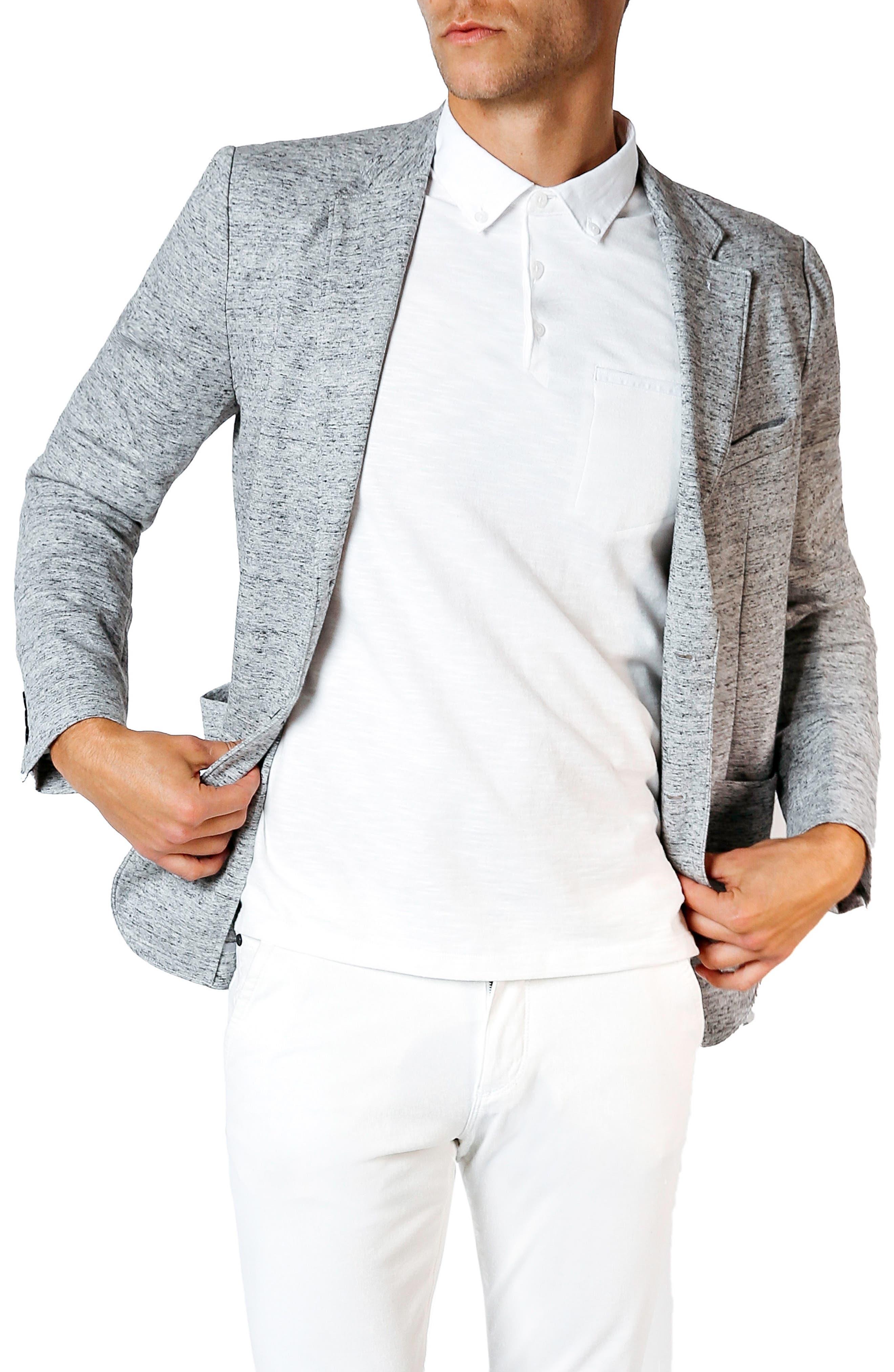Main Image - Good Man Brand Tech Ponte Trim Fit Blazer