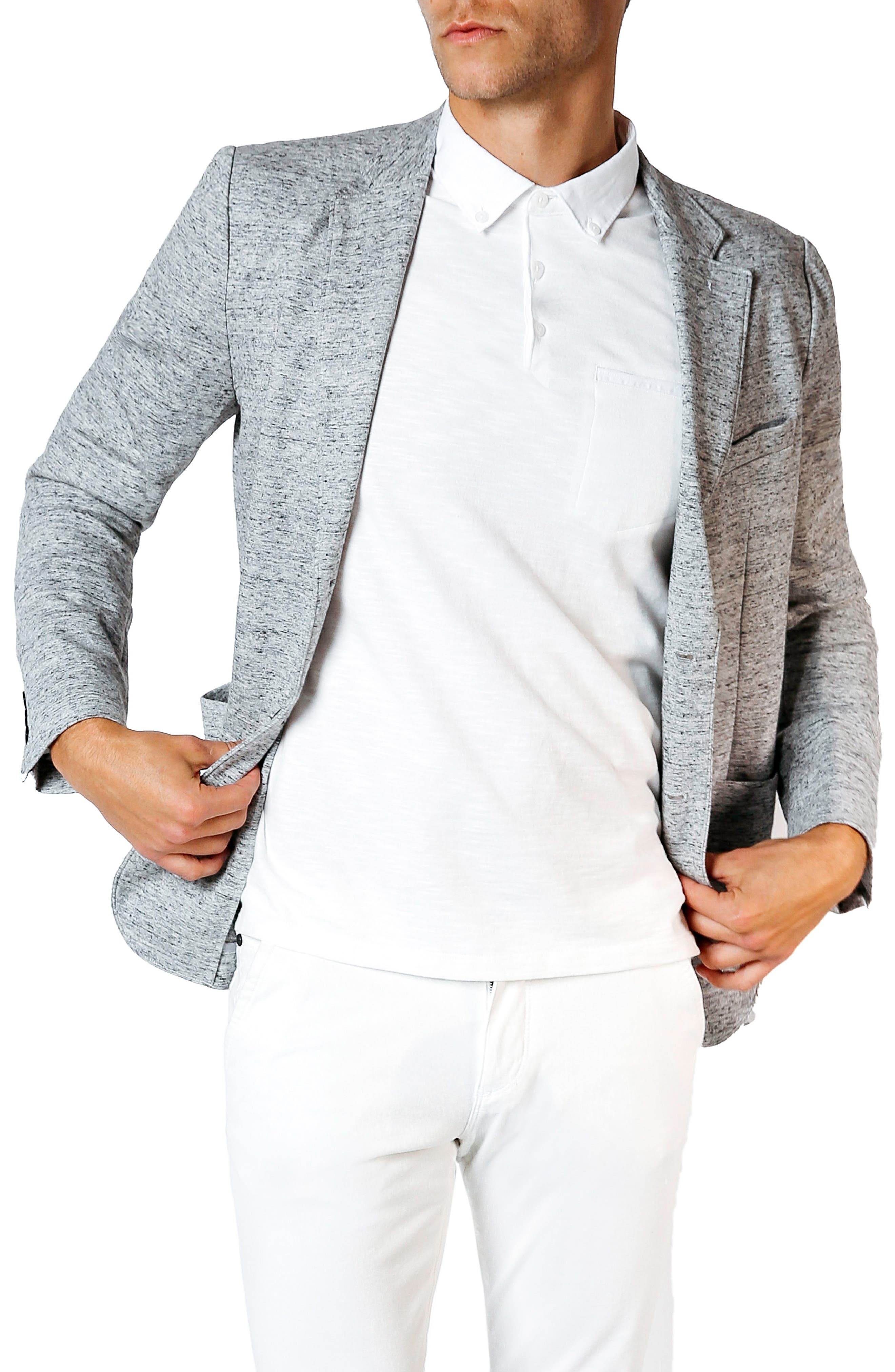 Good Man Brand Tech Ponte Trim Fit Blazer