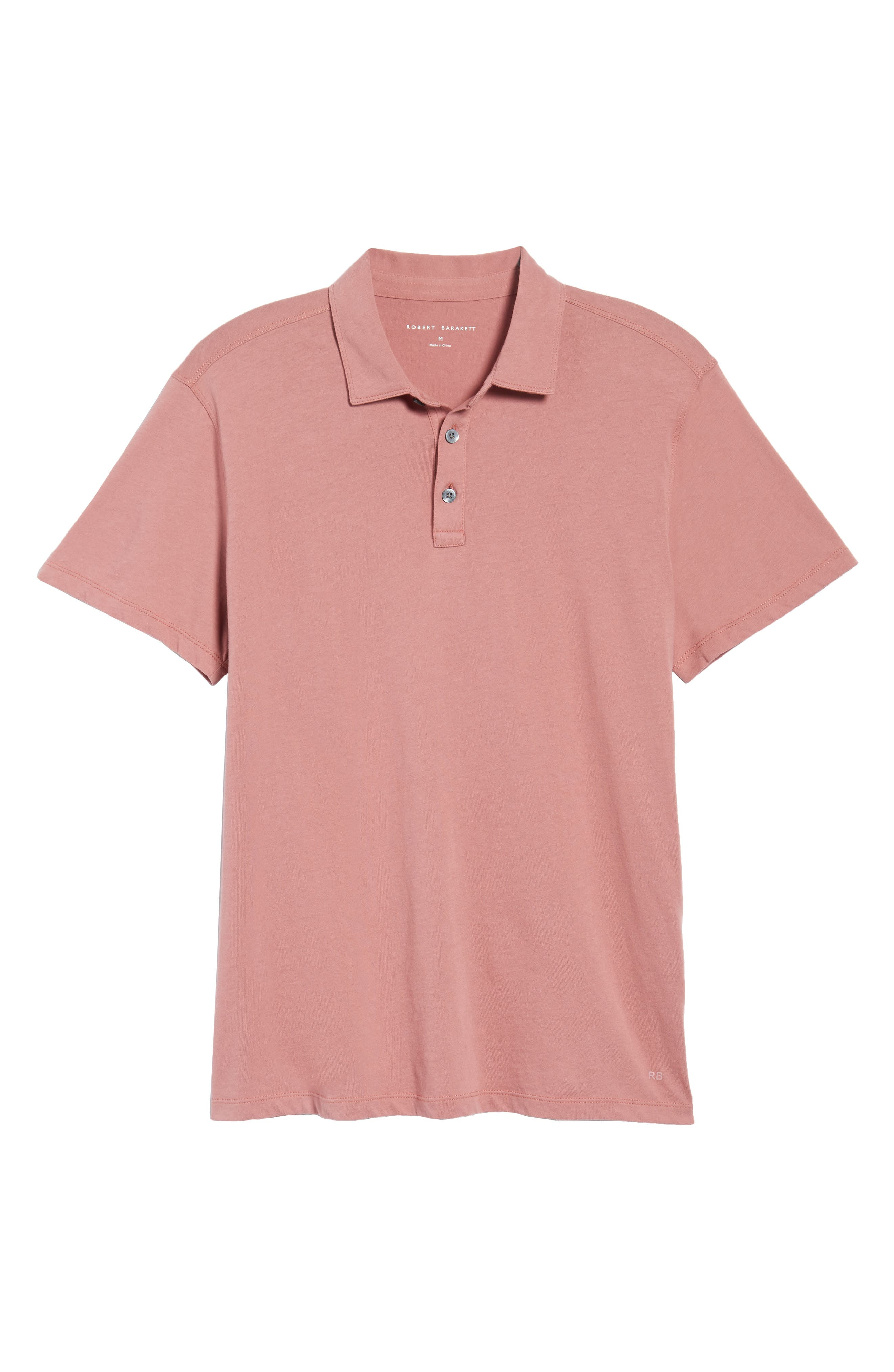 Brunswick Jersey Polo,                             Alternate thumbnail 6, color,                             Spring Coral