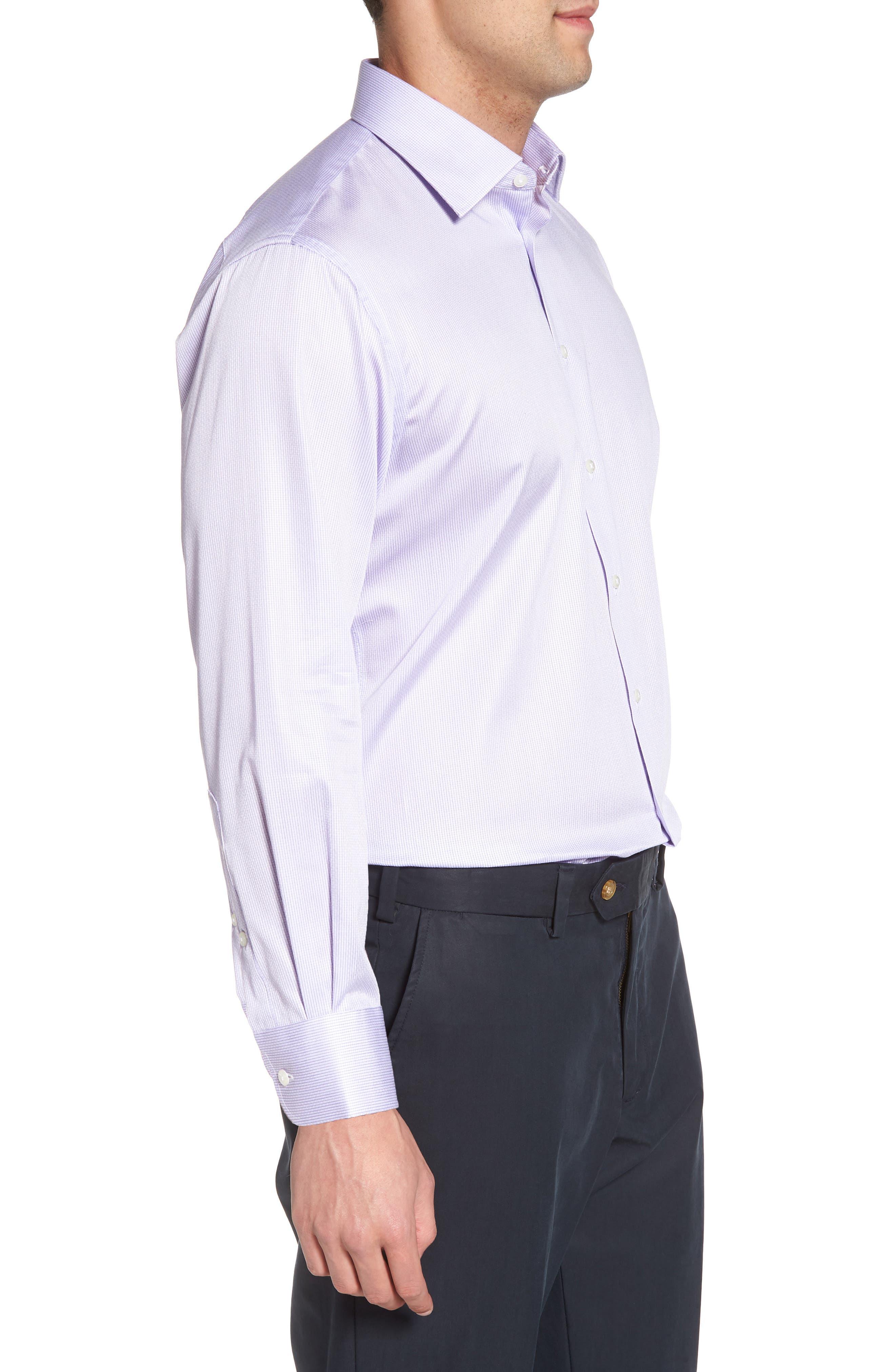 Alternate Image 3  - Nordstrom Men's Shop Traditional Fit Stripe Dress Shirt