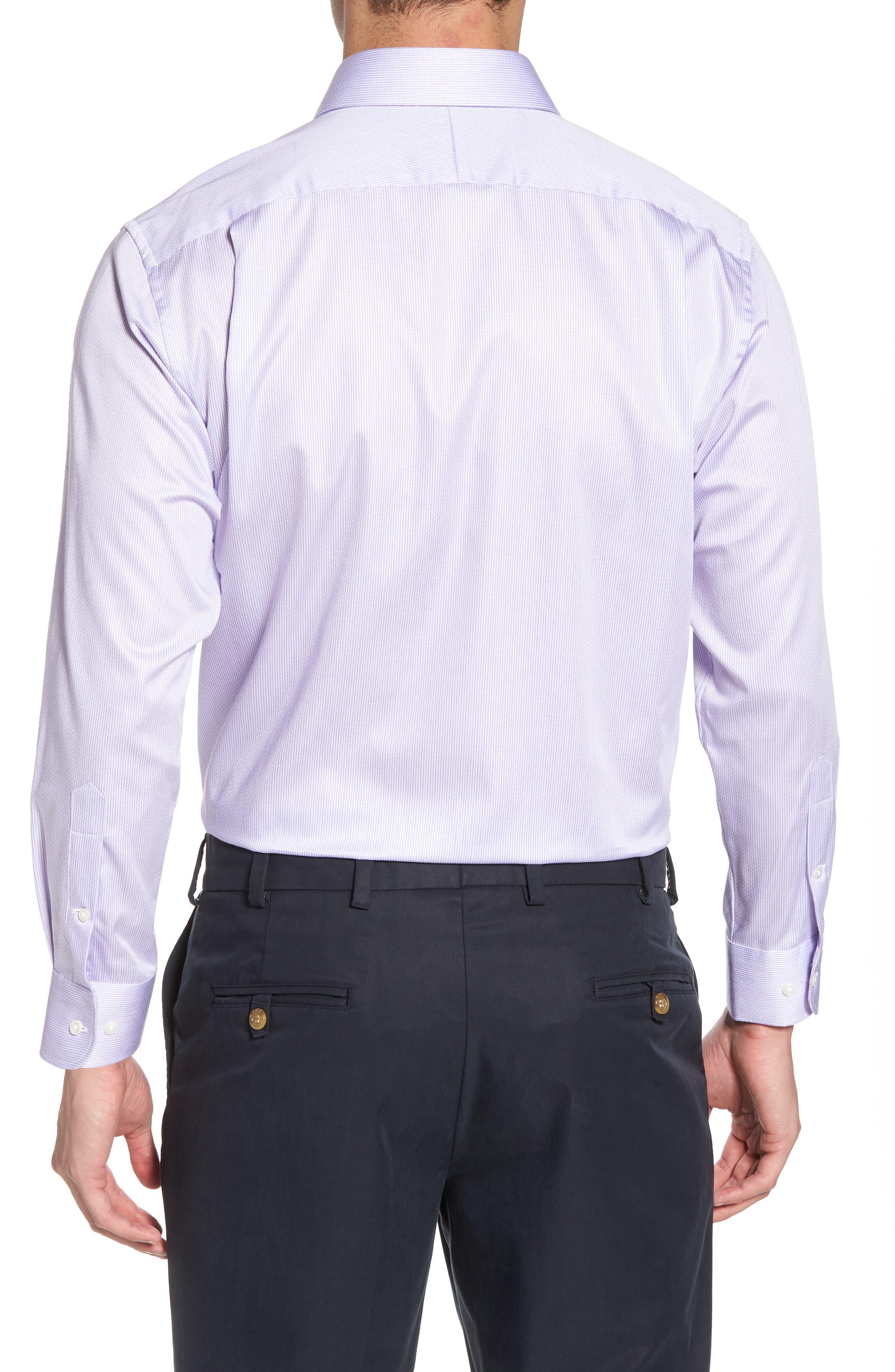 Alternate Image 2  - Nordstrom Men's Shop Traditional Fit Stripe Dress Shirt