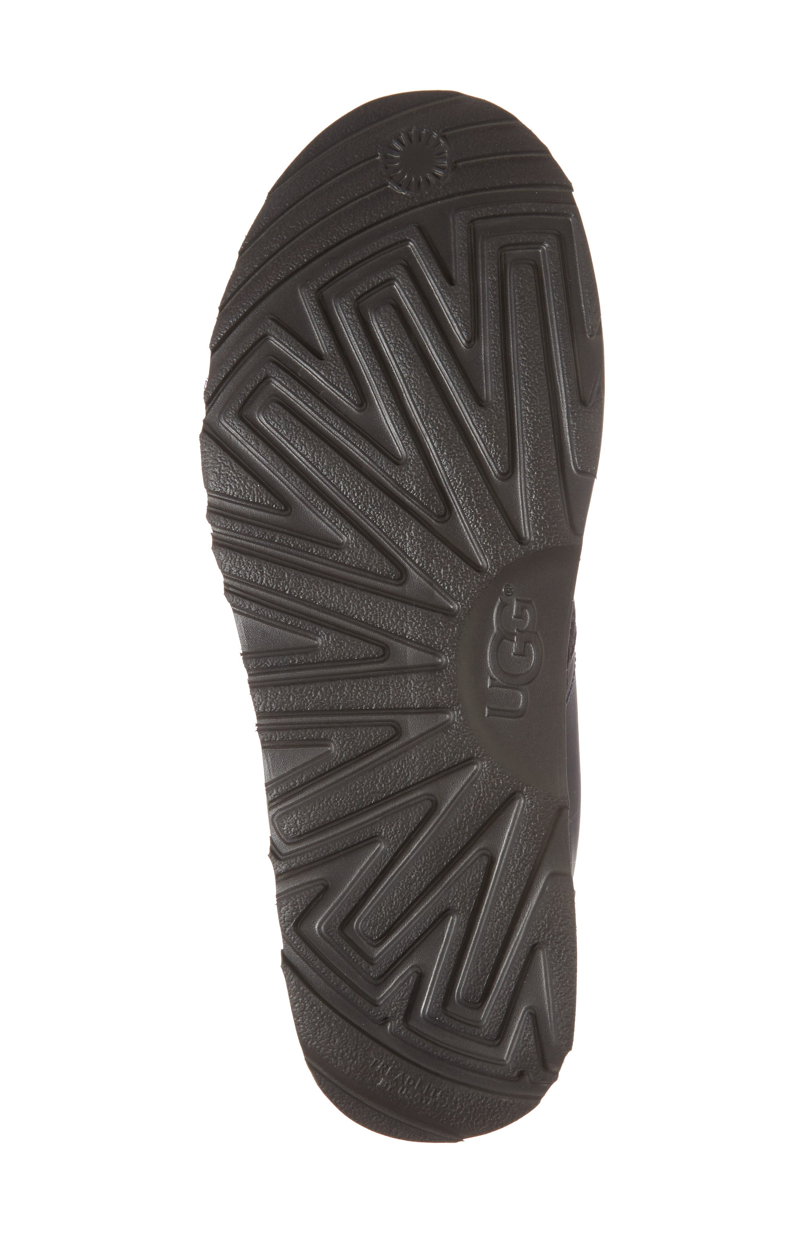 Neumel Ripstop Chukka Boot,                             Alternate thumbnail 6, color,                             True Navy Leather