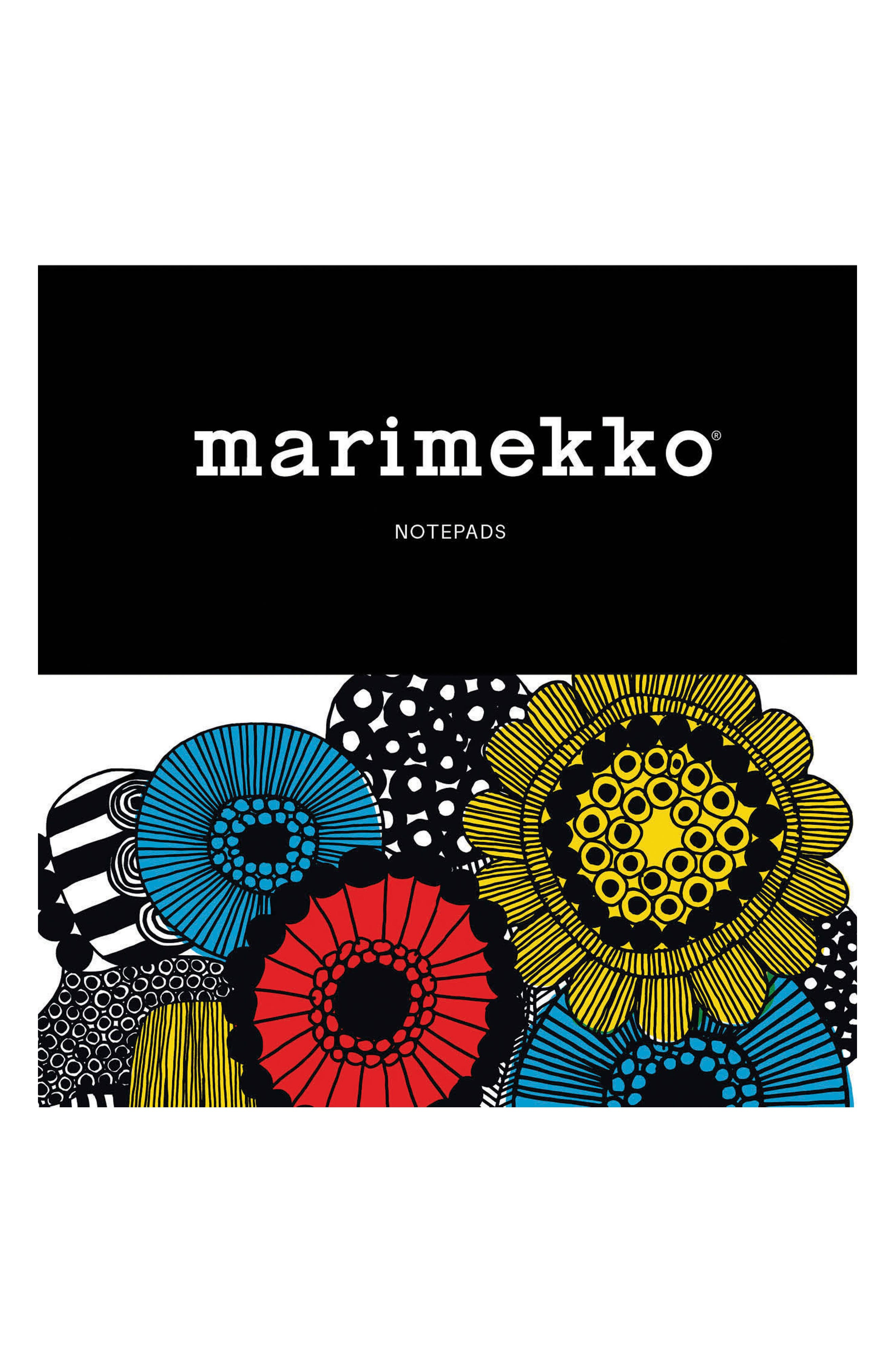 2-Pack Marimekko Notepads,                             Main thumbnail 1, color,                             Multi