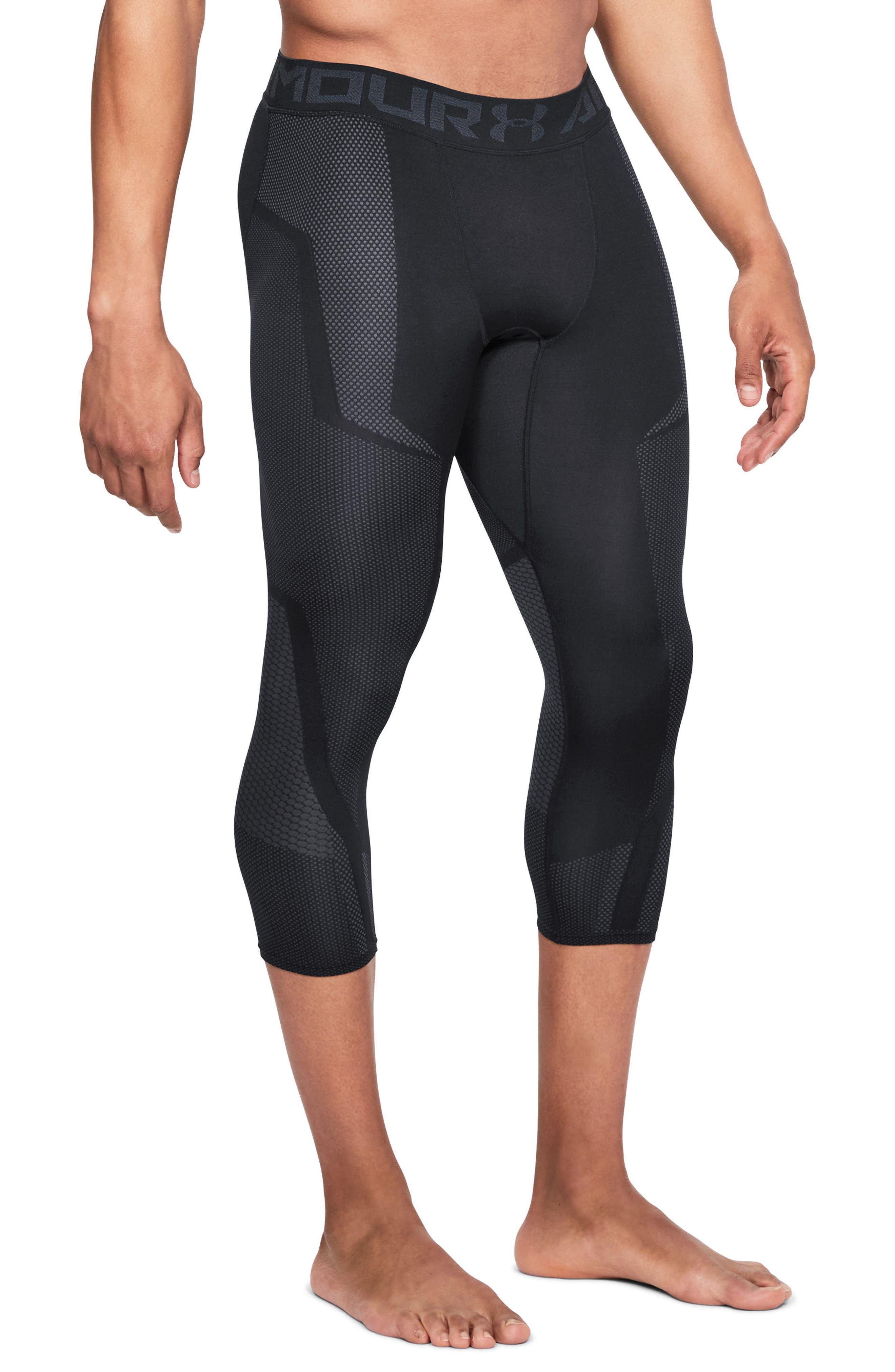 Threadborne Seamless Pants,                         Main,                         color, Black/ Stealth Gray