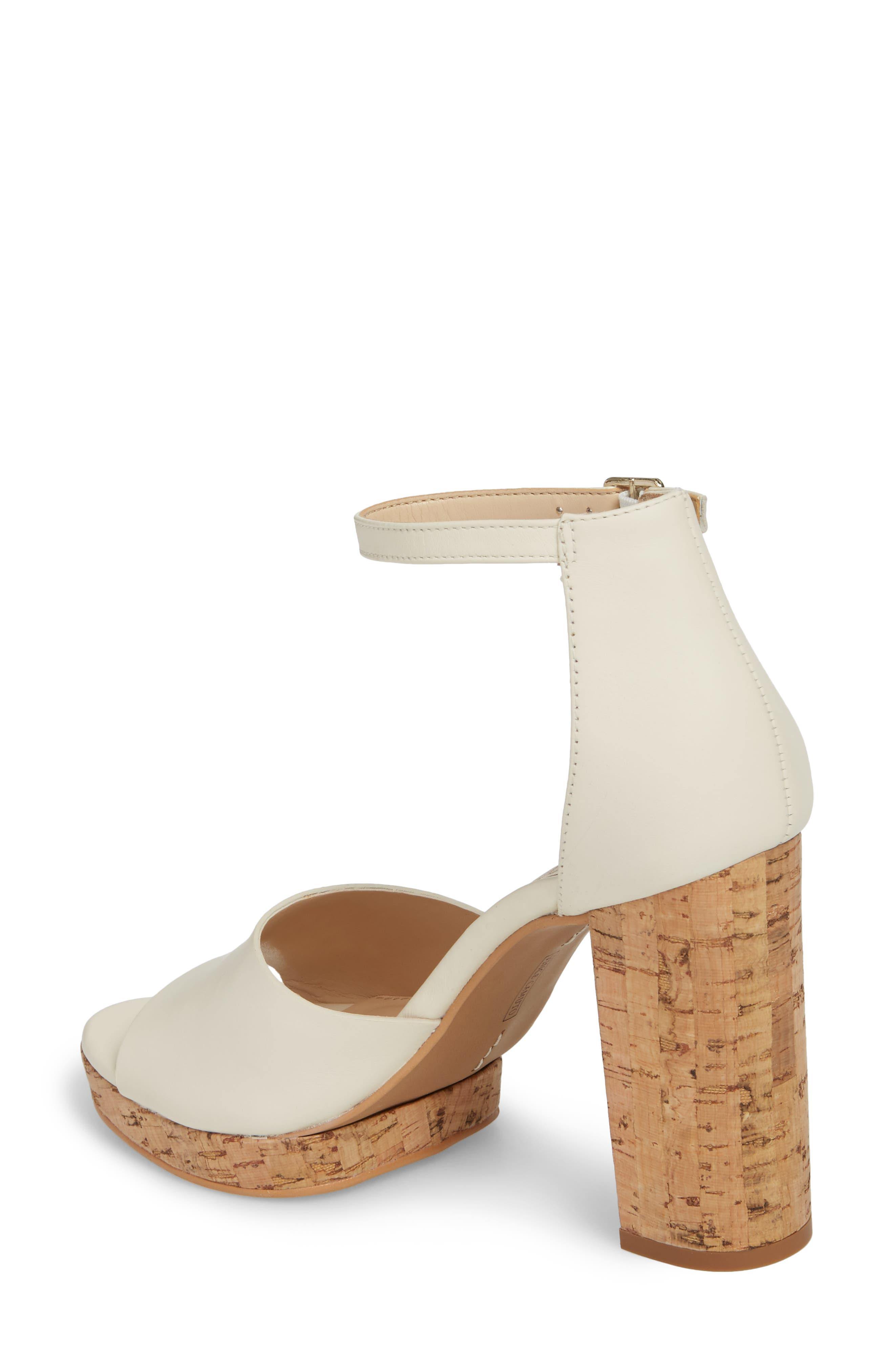 Ciestie Platform Sandal,                             Alternate thumbnail 2, color,                             Vanilla Leather