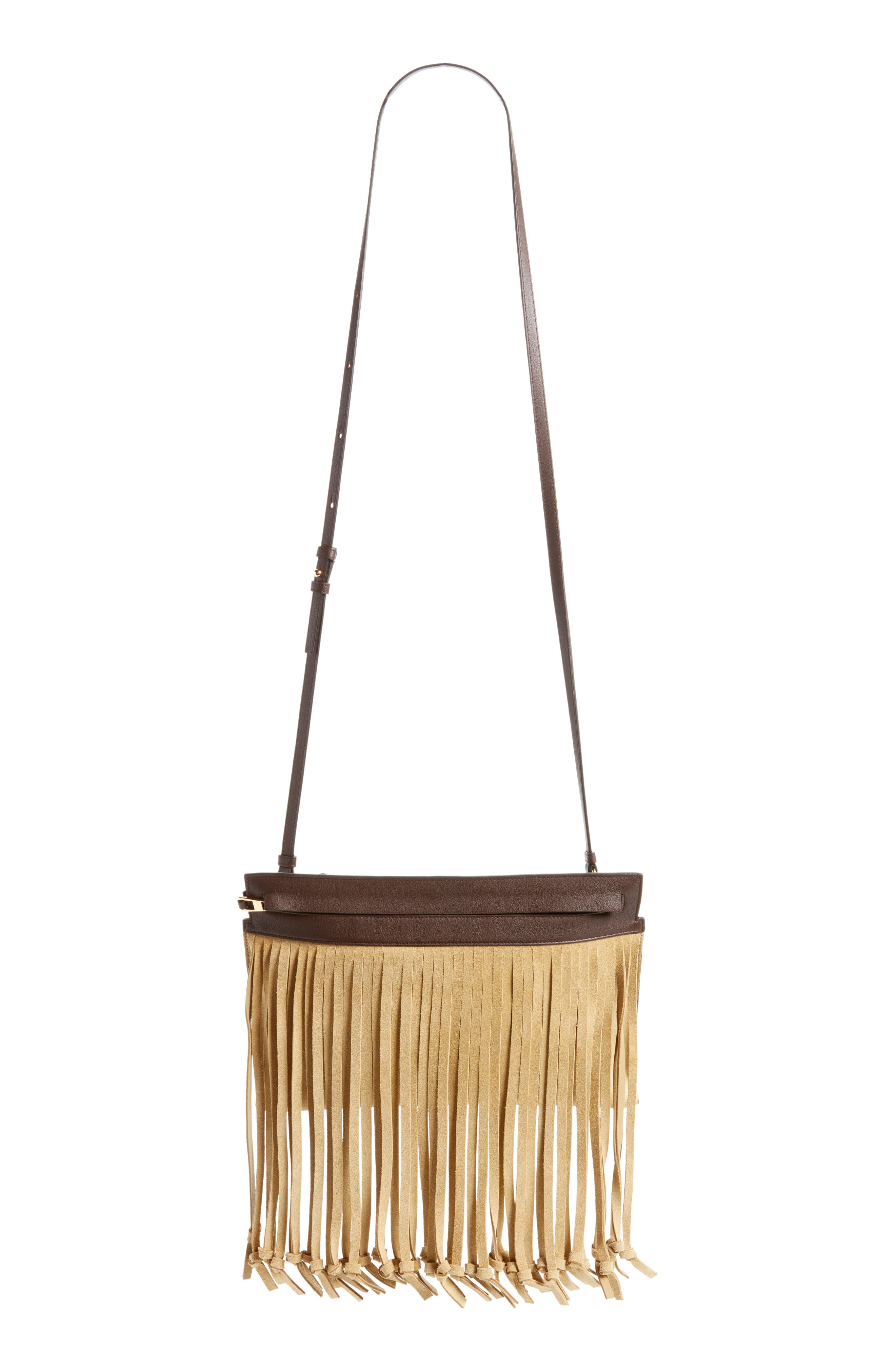 T Pouch Fringe Leather Bag Loewe gDVNWjrqX