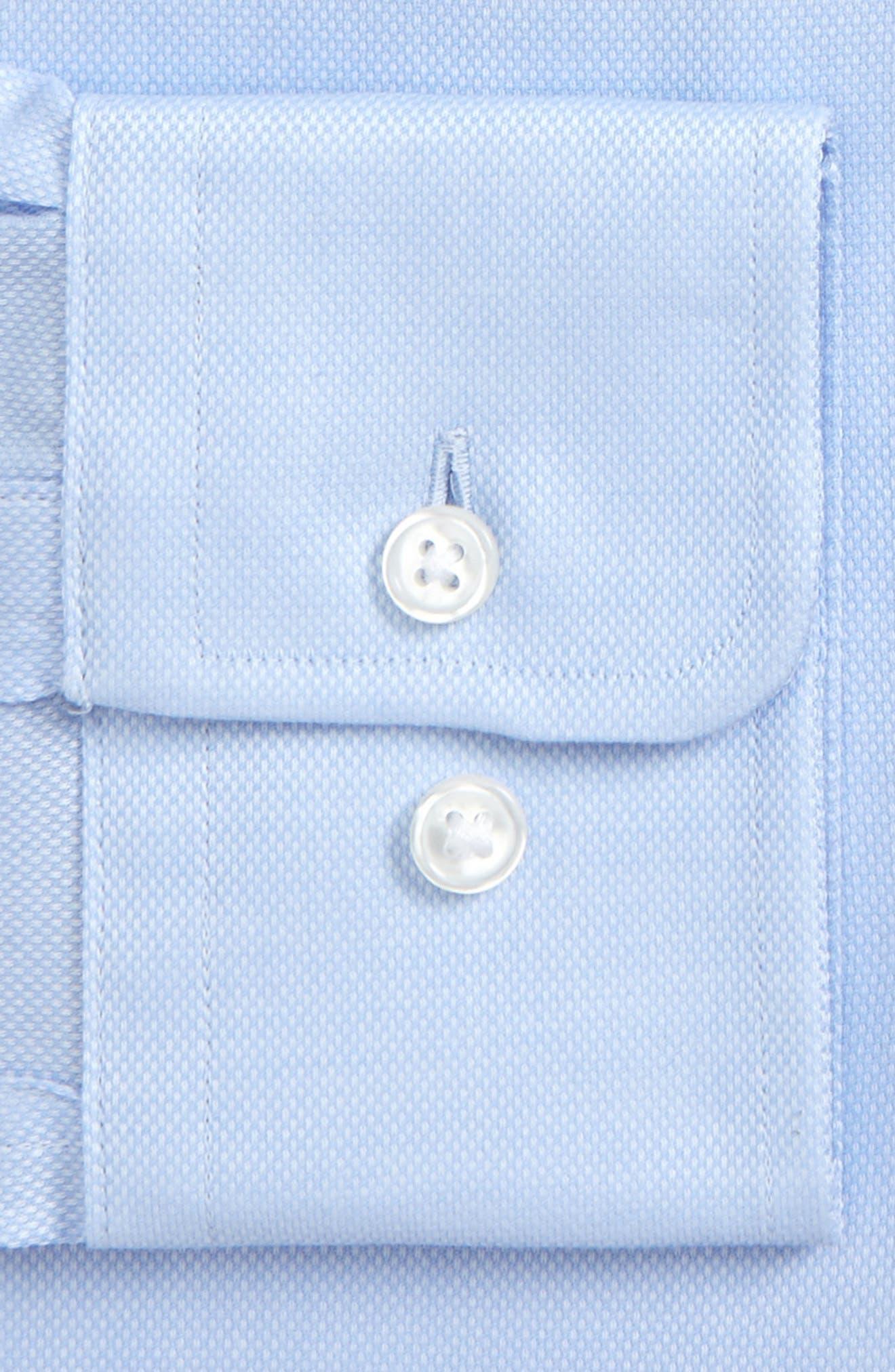 Marley Sharp Fit Dress Shirt,                             Alternate thumbnail 2, color,                             Blue