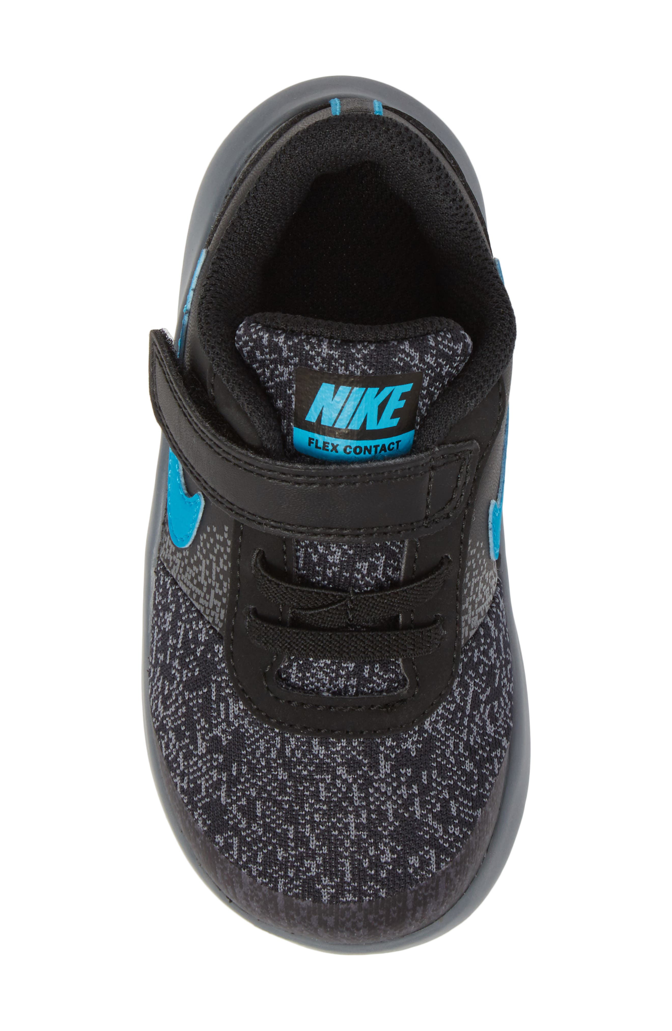 Alternate Image 5  - Nike Flex Contact Running Shoe (Baby, Walker, Toddler & Little Kid)