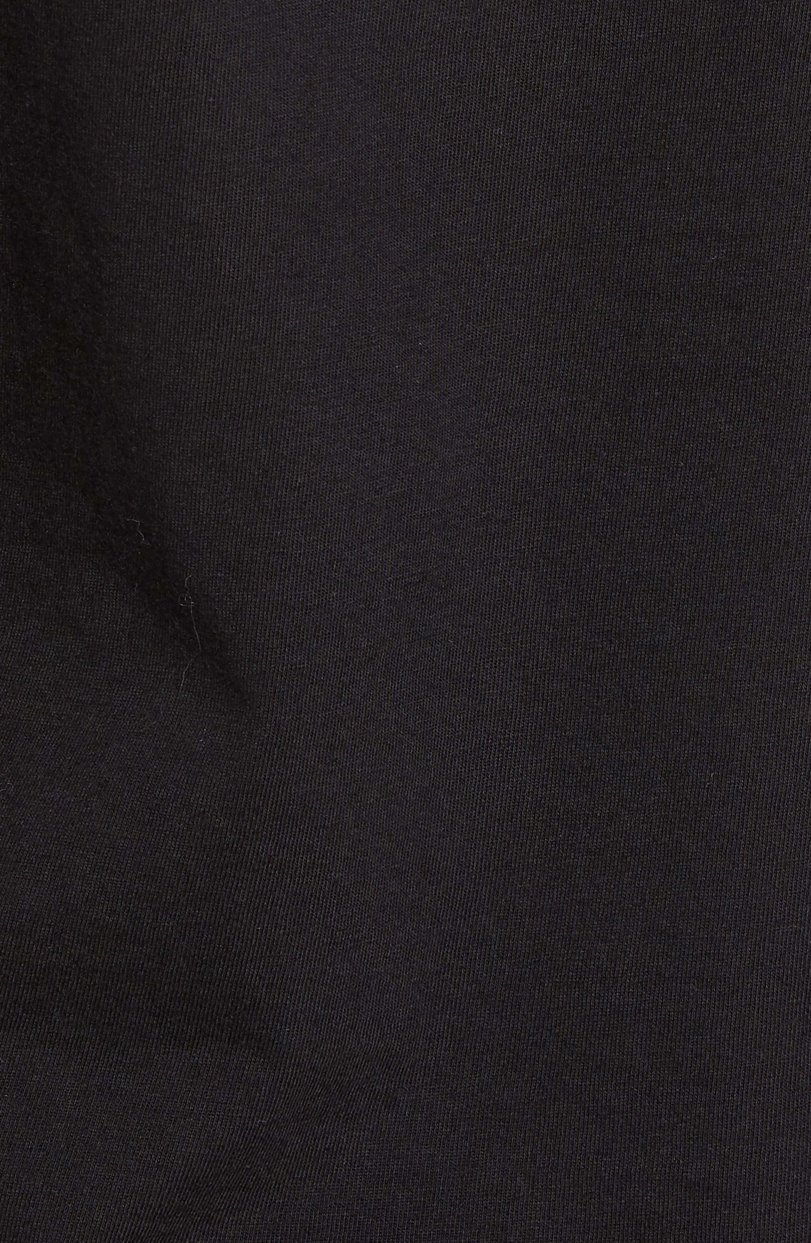 Enemy Graphic T-Shirt,                             Alternate thumbnail 5, color,                             Black