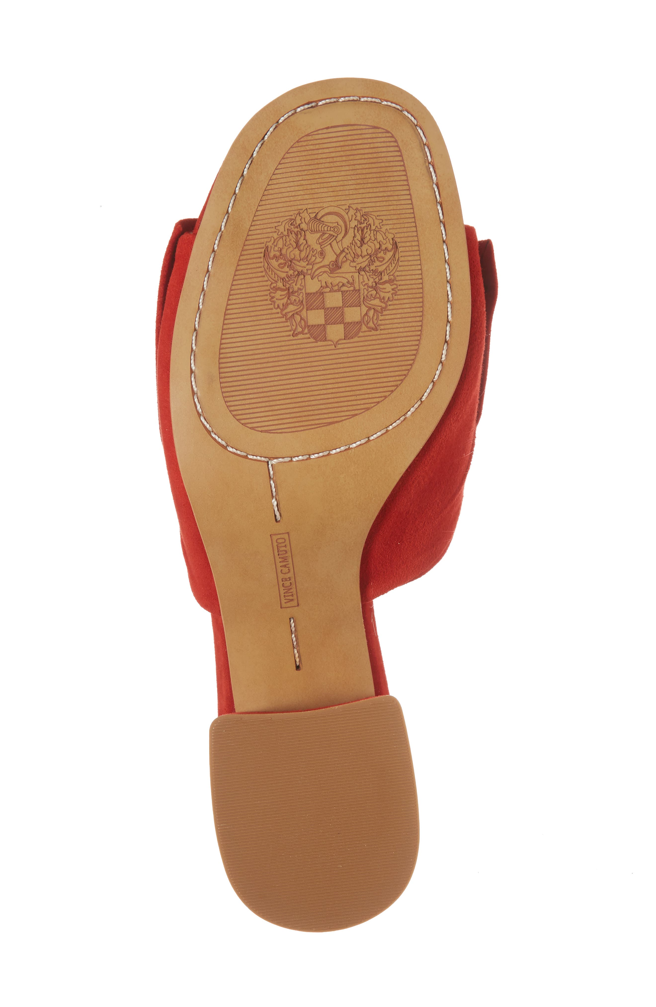 Sharrey Sandal,                             Alternate thumbnail 6, color,                             Red Hot Rio Suede