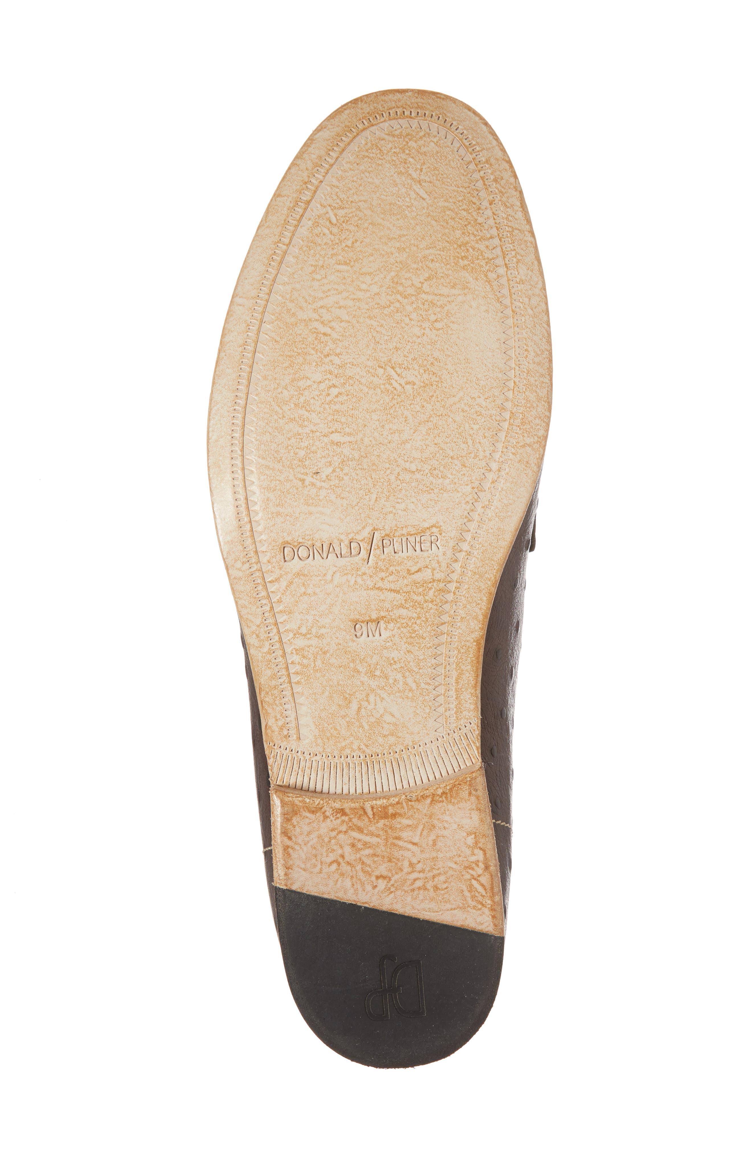 Moritz Apron Toe Bit Loafer,                             Alternate thumbnail 6, color,                             Brown Leather