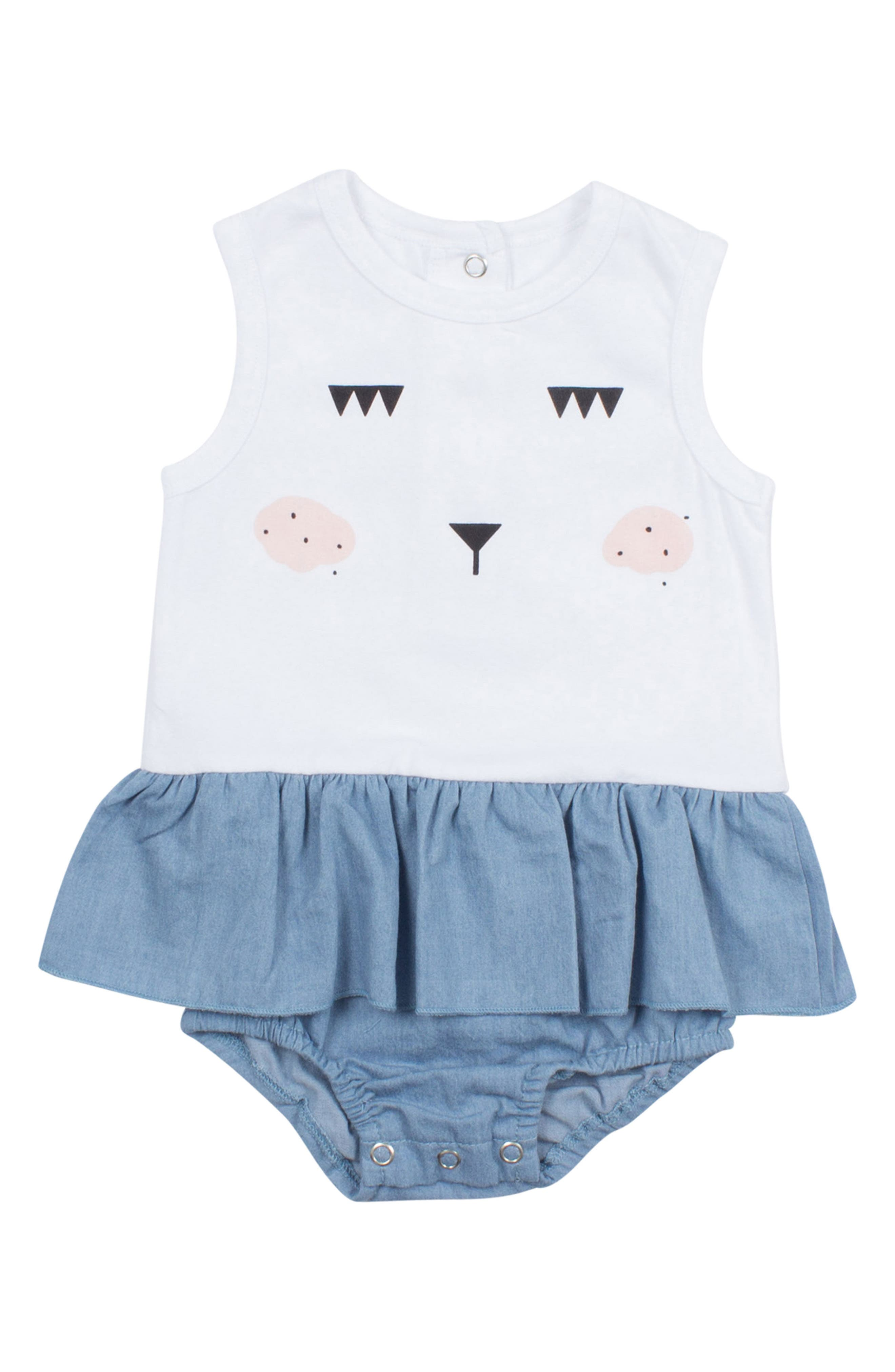 SOOKIbaby Character All in One Bodysuit (Baby Girls)