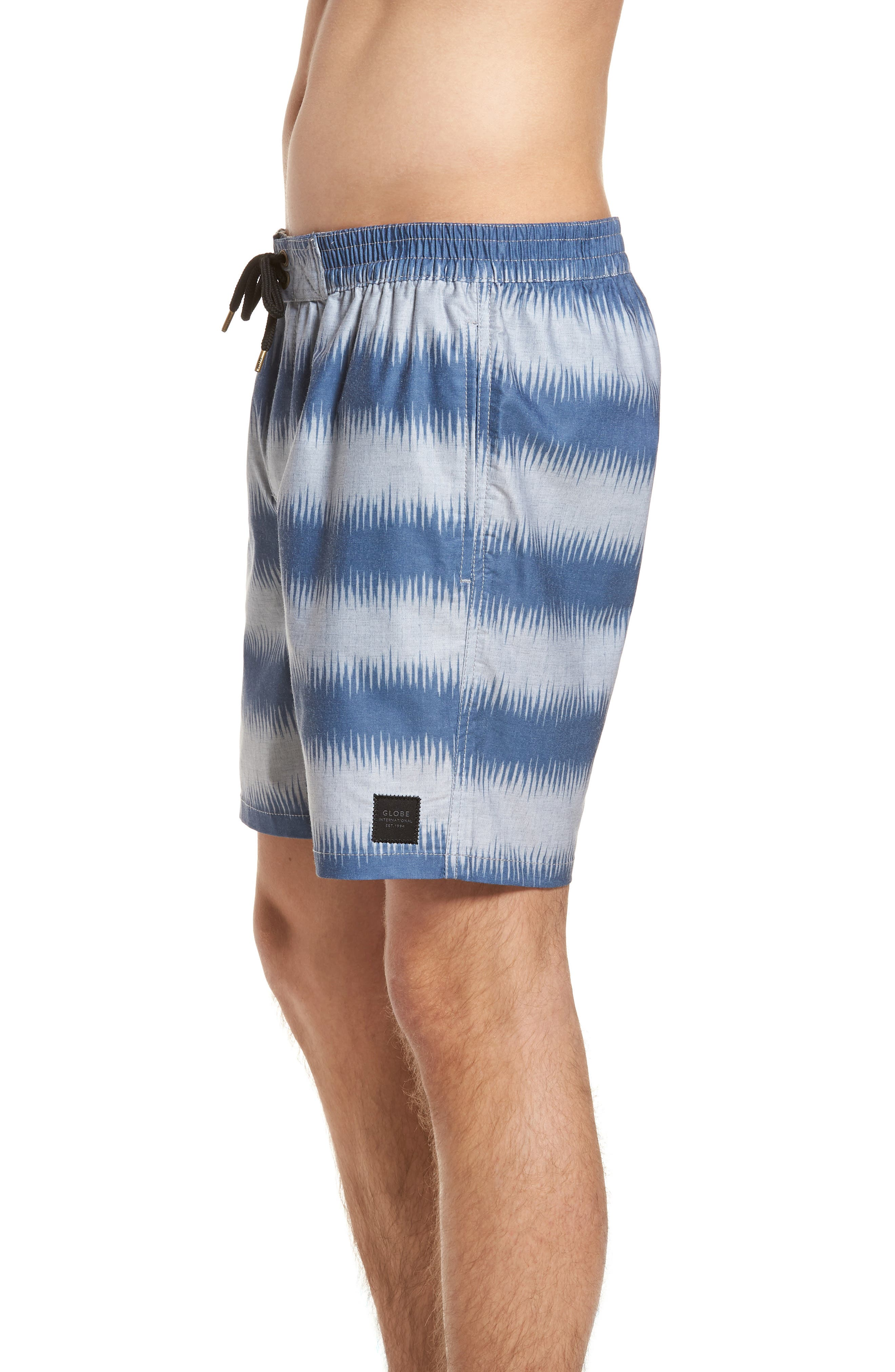 Moonshine Pool Shorts,                             Alternate thumbnail 3, color,                             Indigo