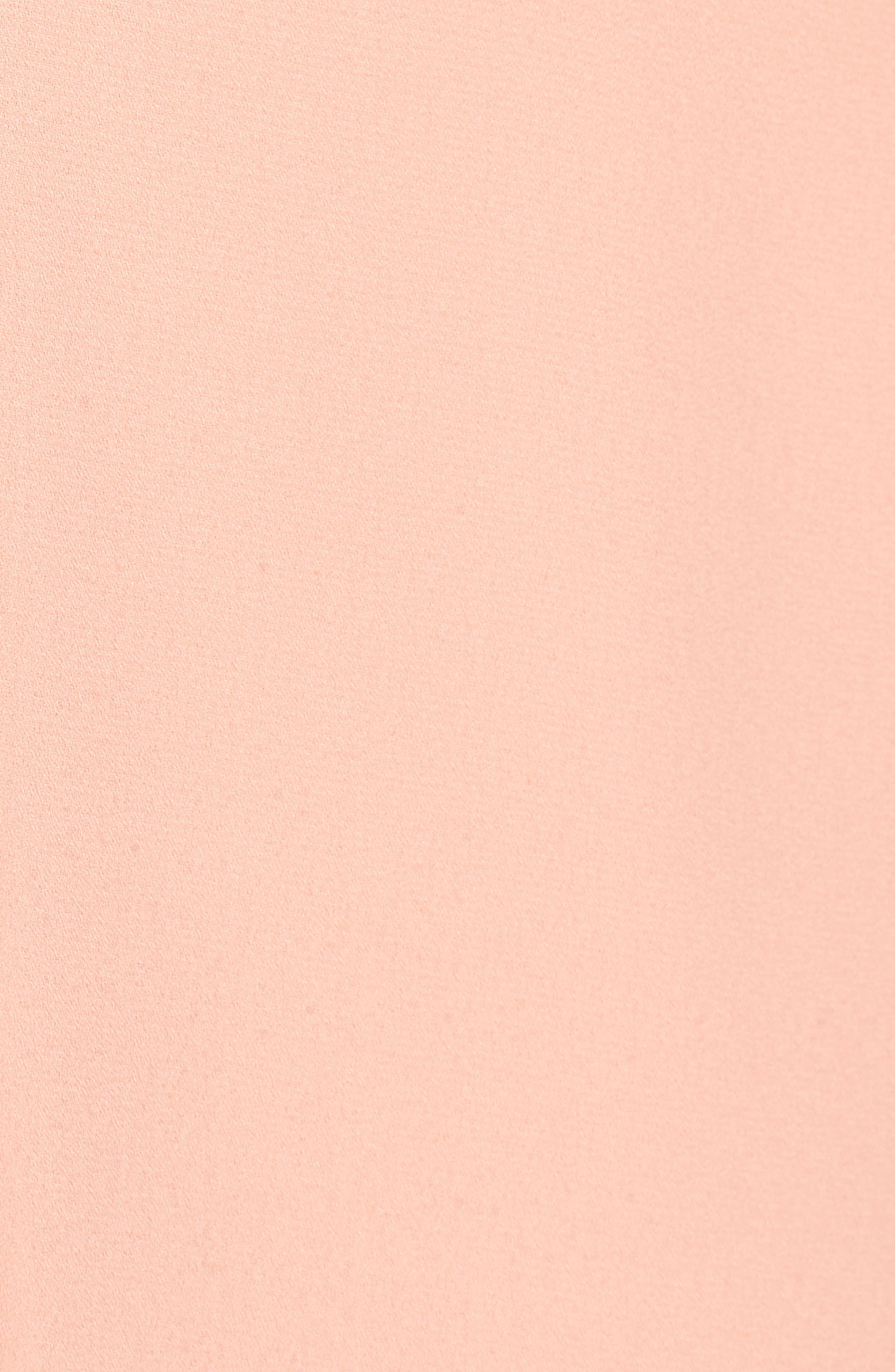 Cold Shoulder Minidress,                             Alternate thumbnail 5, color,                             Peach