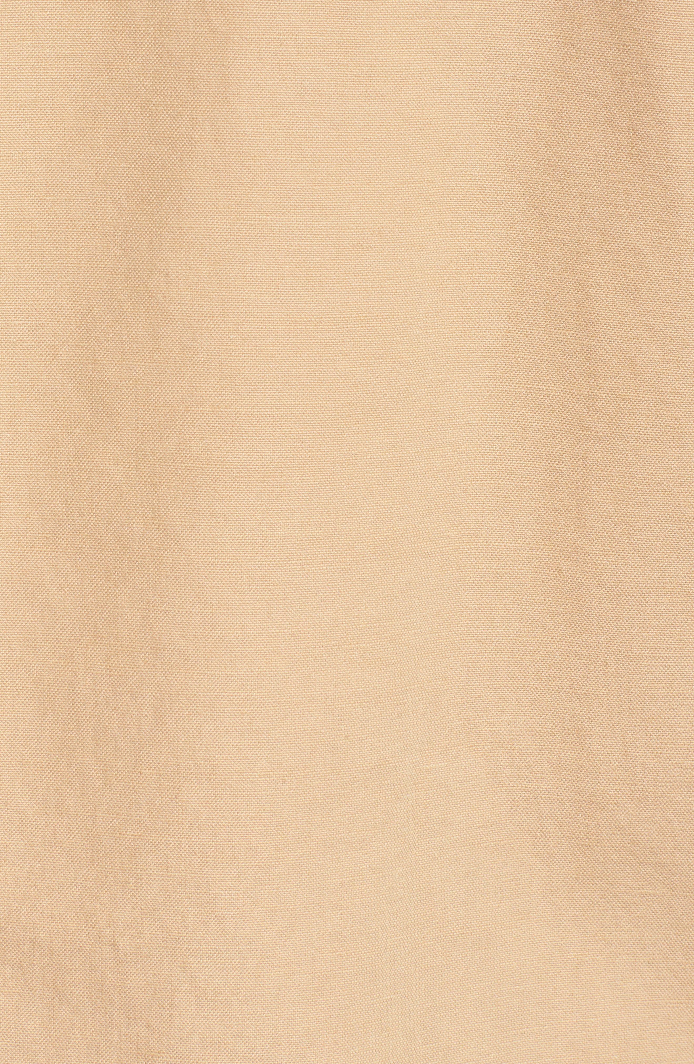Organic Cotton & Hemp Jacket,                             Alternate thumbnail 5, color,                             Wheat