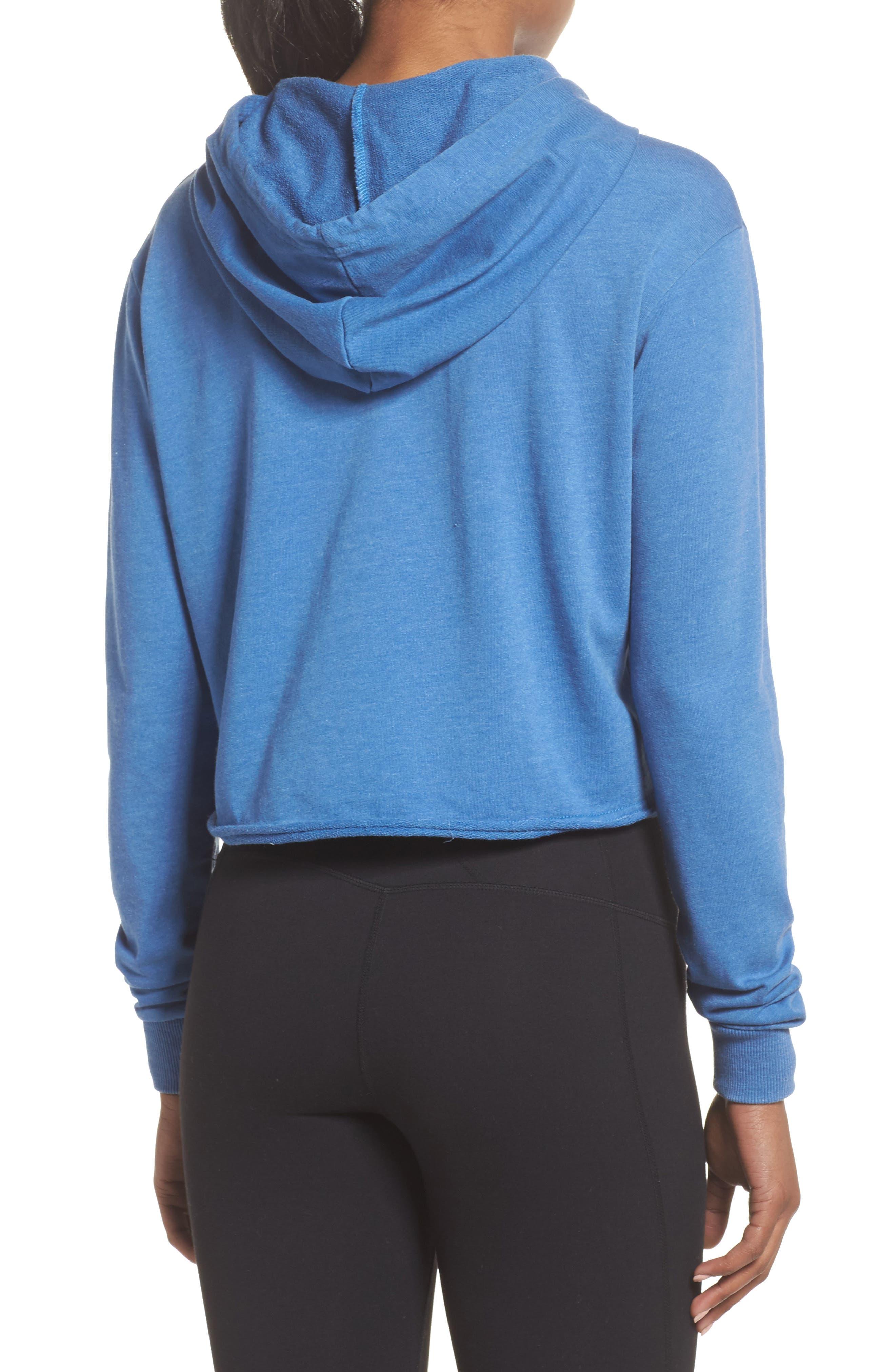 Varsity Hoodie Sweatshirt,                             Alternate thumbnail 2, color,                             Riviera