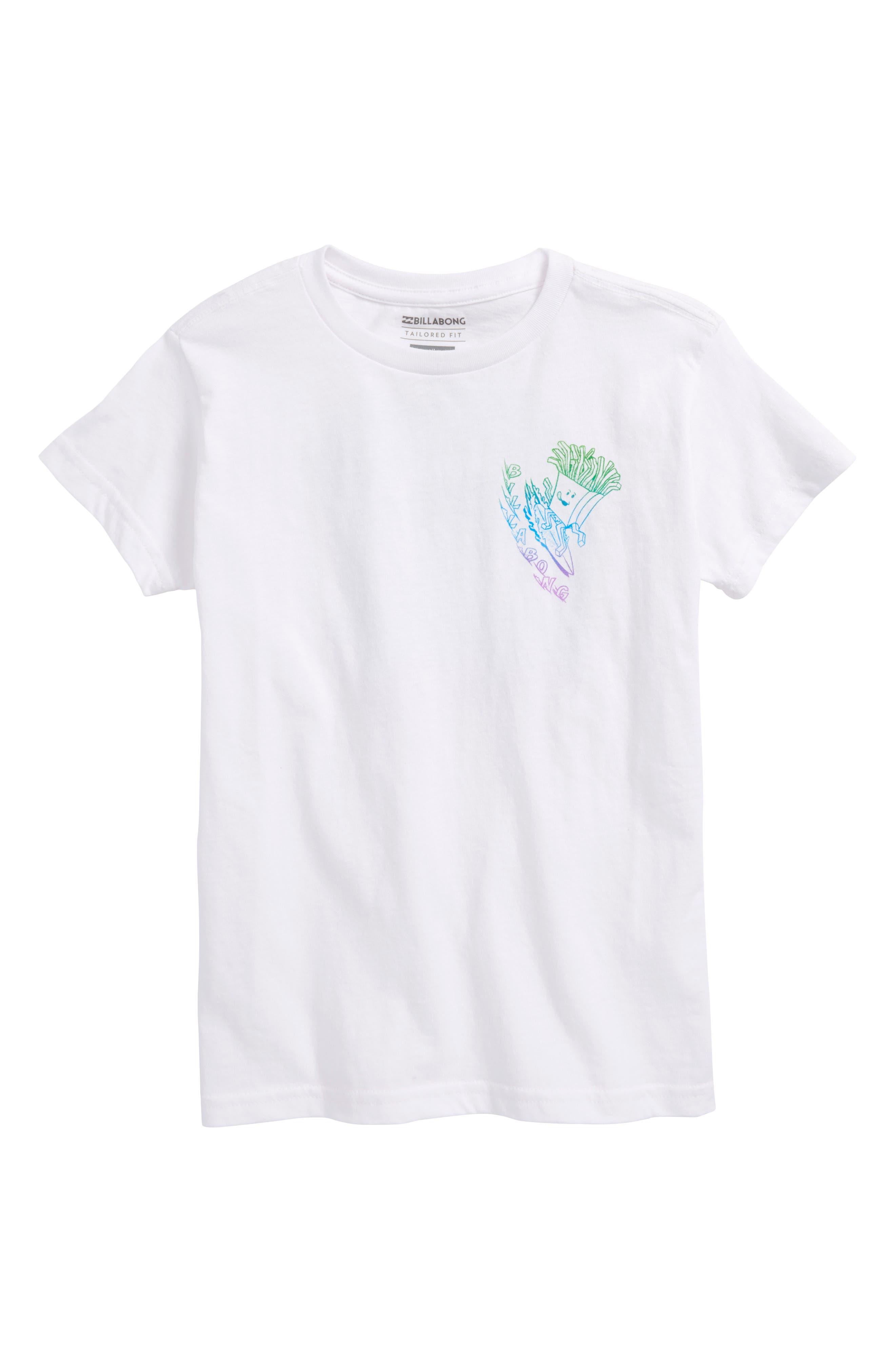 Billabong Snacks & Shacks Graphic T-Shirt (Little Boys)