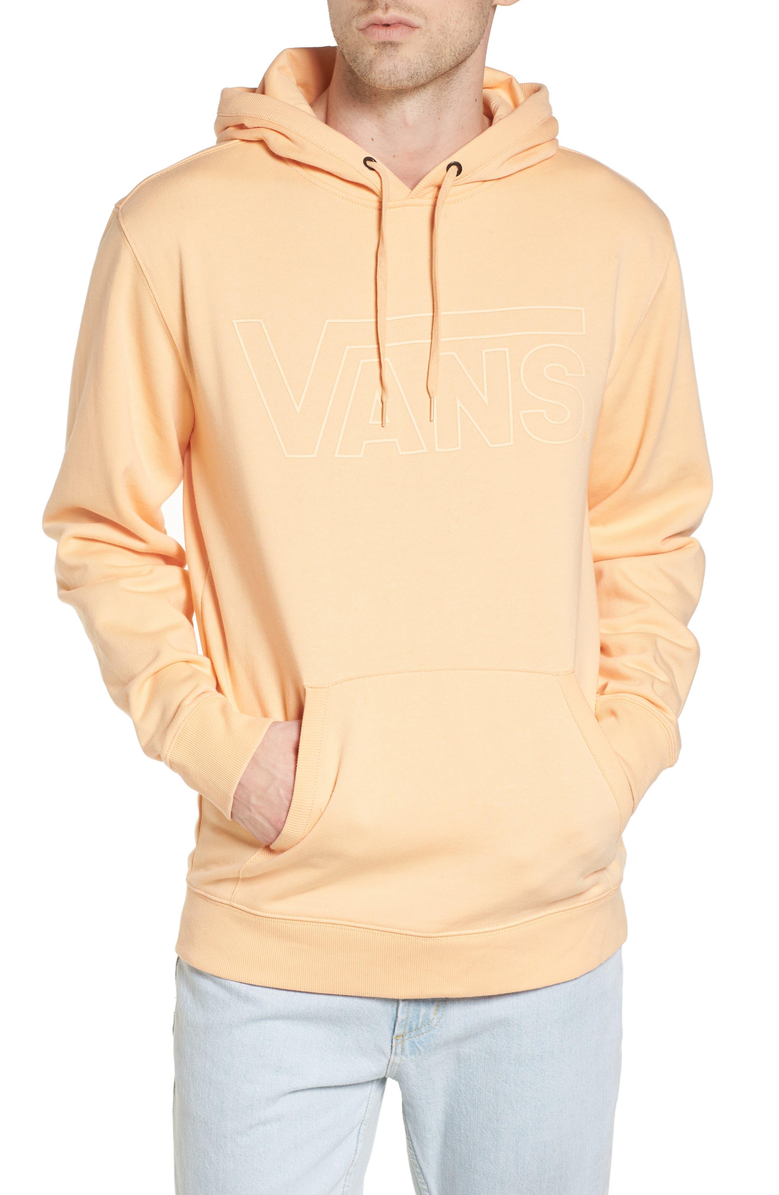 Classic Hoodie Sweatshirt,                             Main thumbnail 1, color,                             Apricot Ice