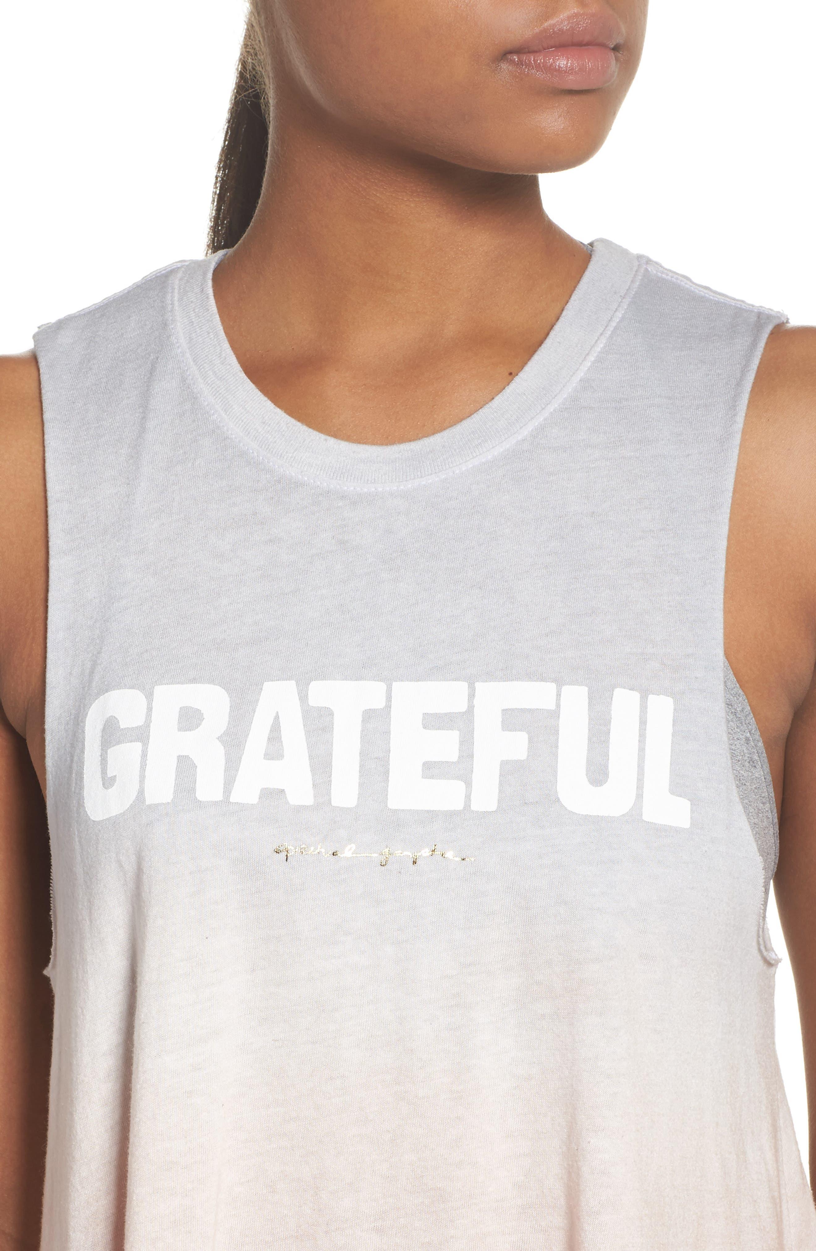 Grateful Graphic Tank,                             Alternate thumbnail 4, color,                             Sunset