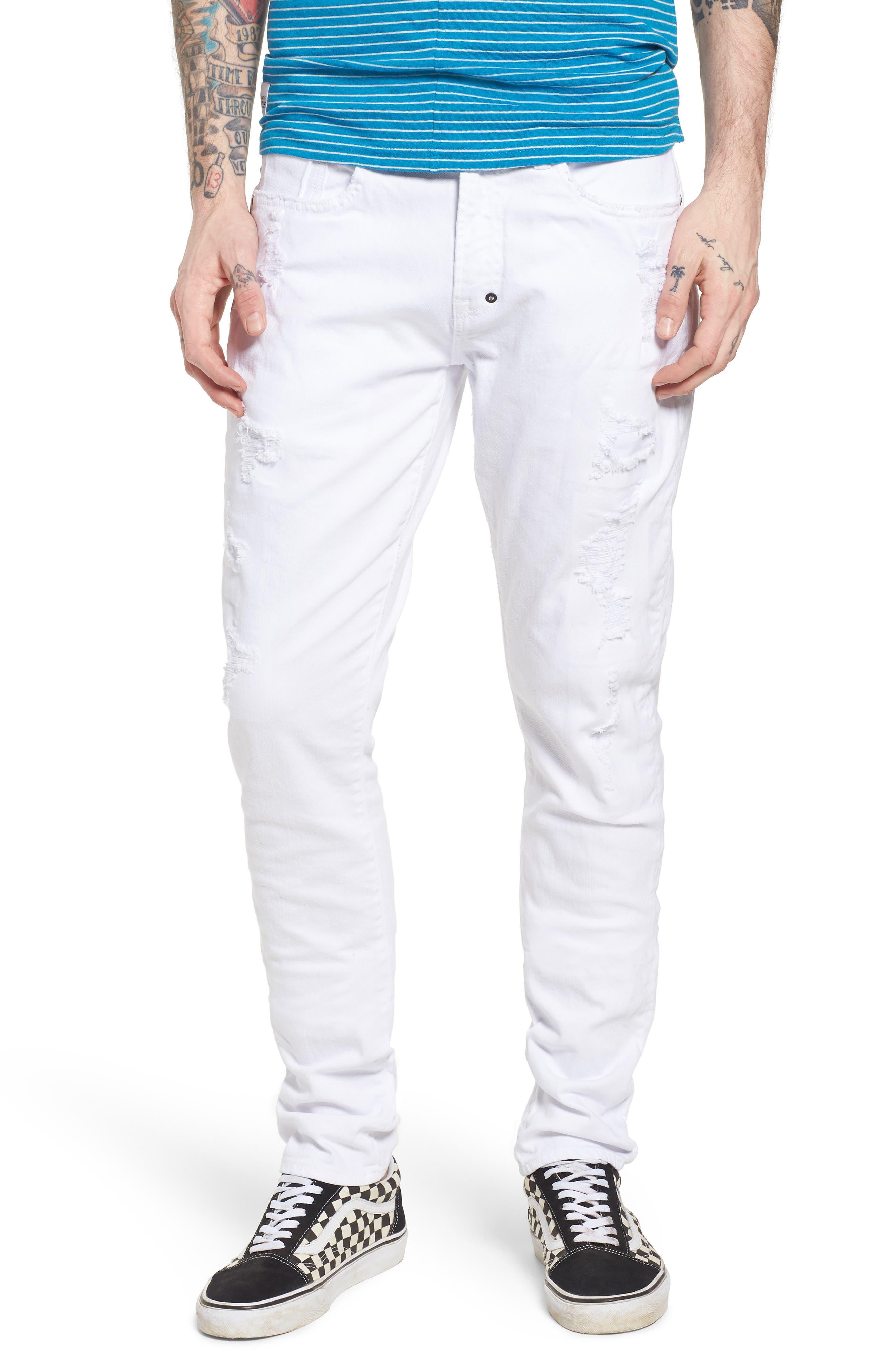 Windsor Slim Fit Jeans,                             Main thumbnail 1, color,                             Living White