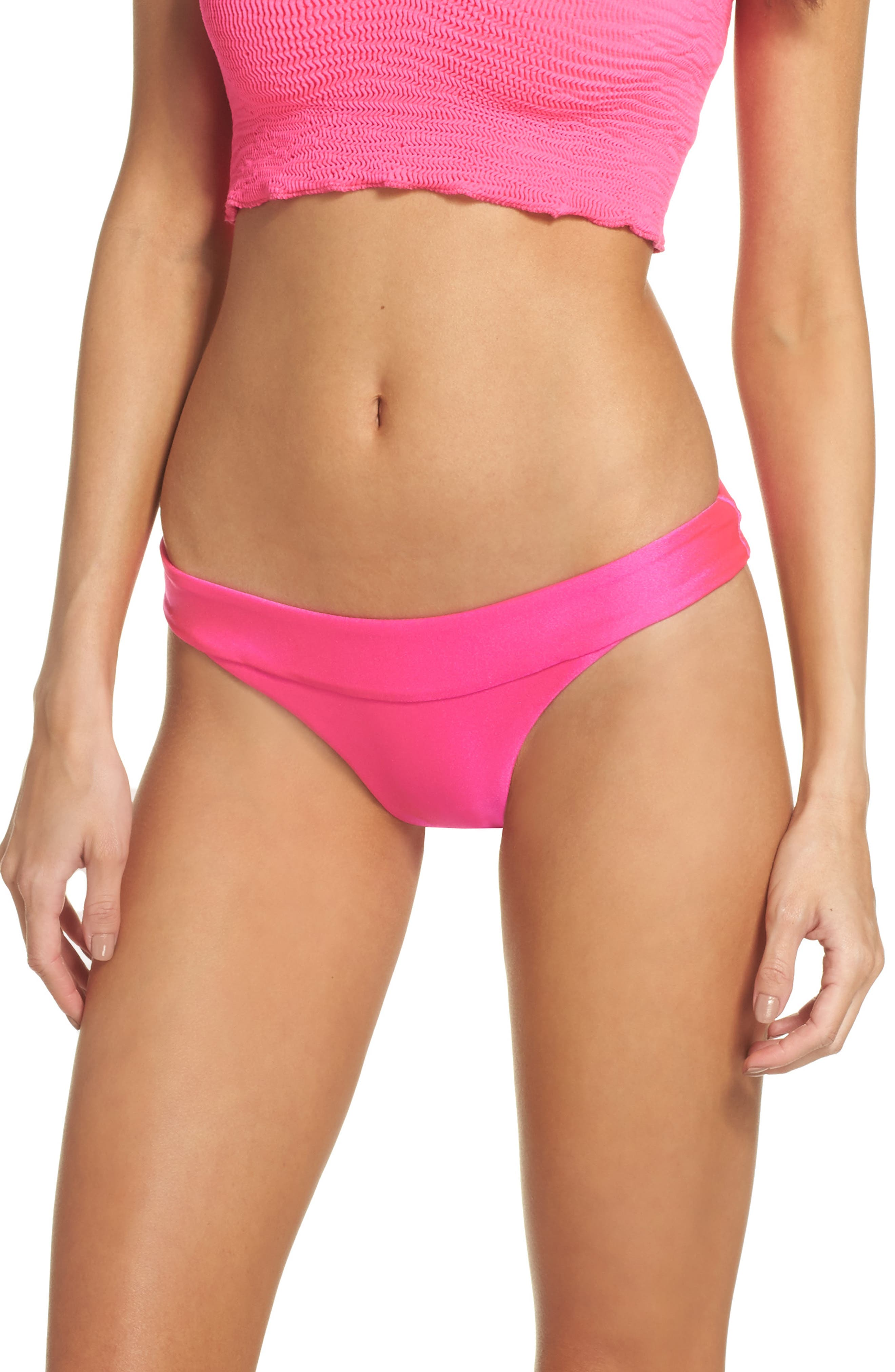 Isabella Rose Tubular Solid Bikini Bottoms