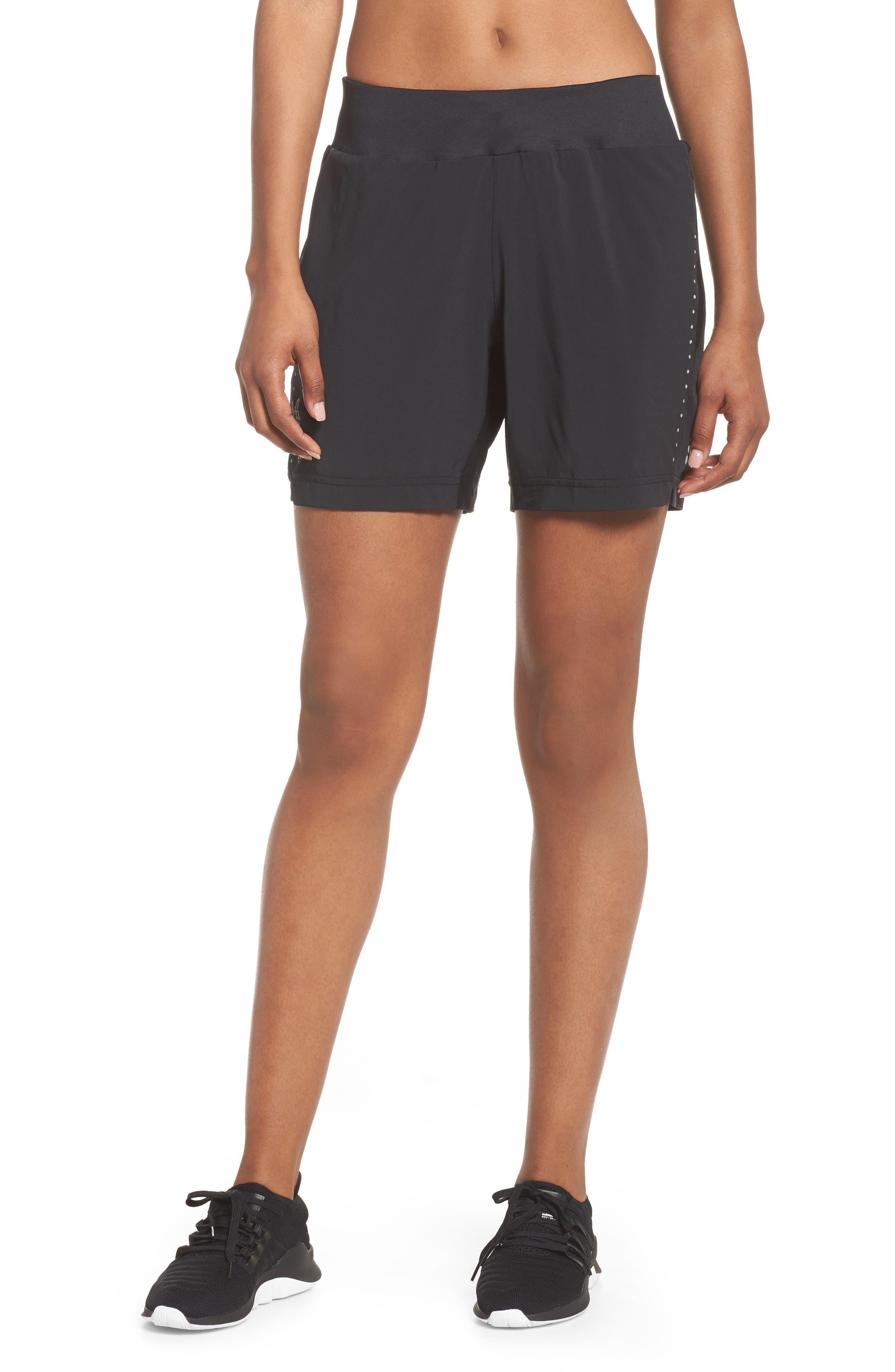 Essential Shorts,                         Main,                         color, Black