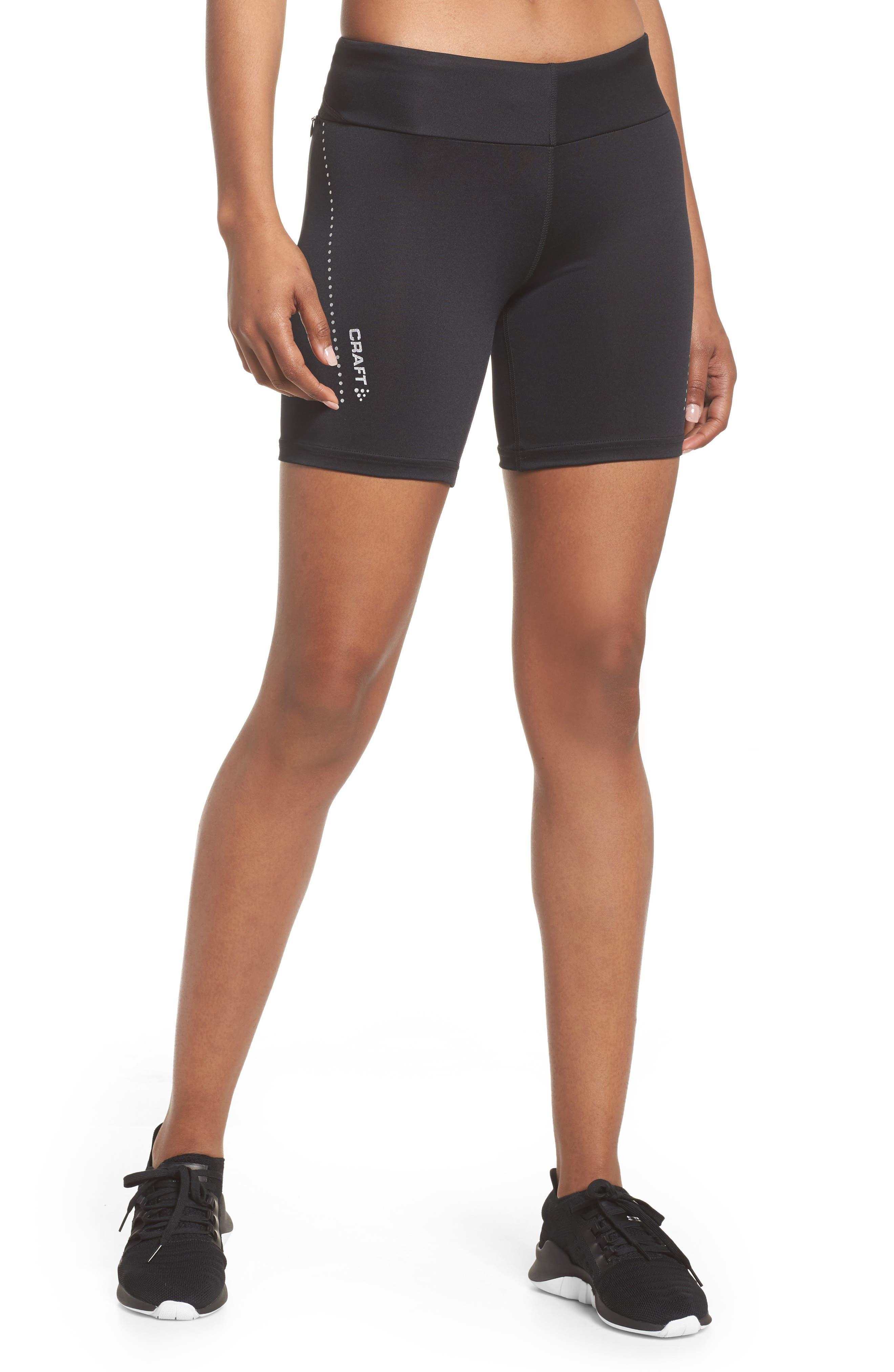 Essential Shorts,                             Main thumbnail 1, color,                             Black