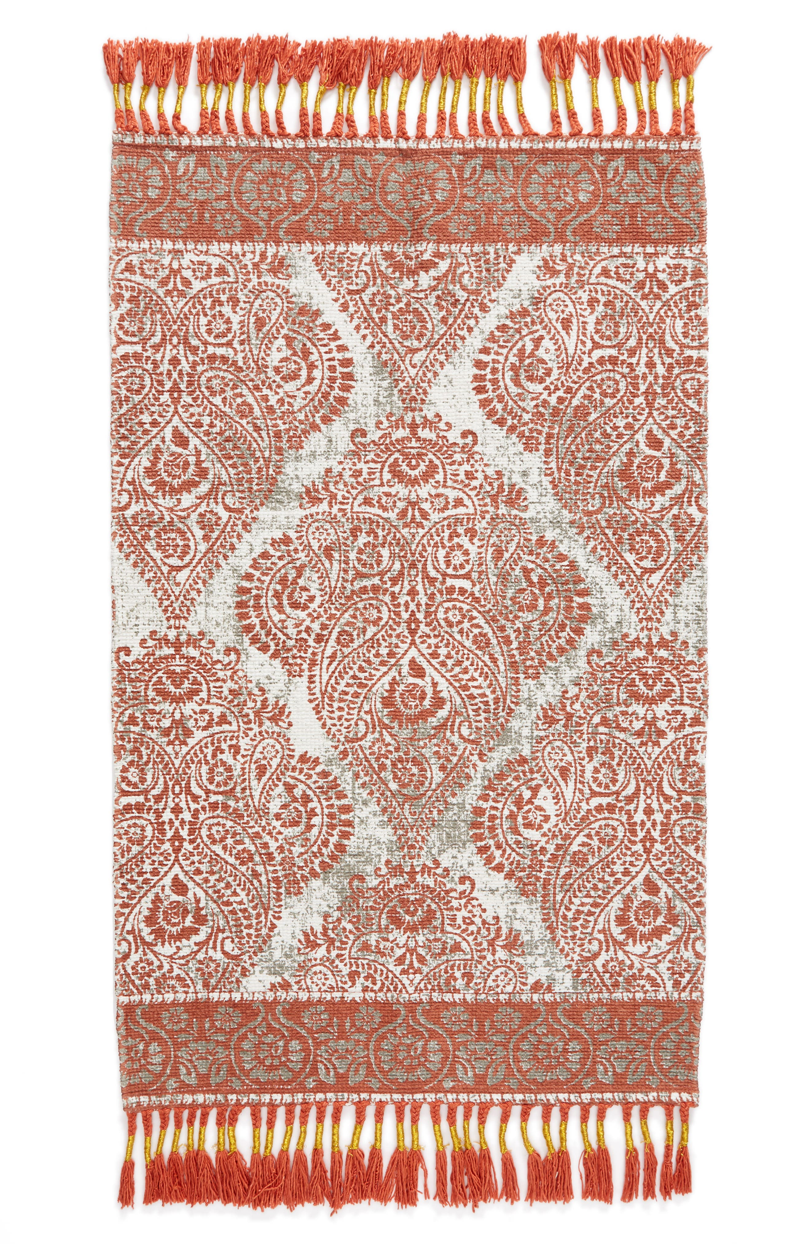 Main Image - Nordstrom at Home Paisley Fringe Rug