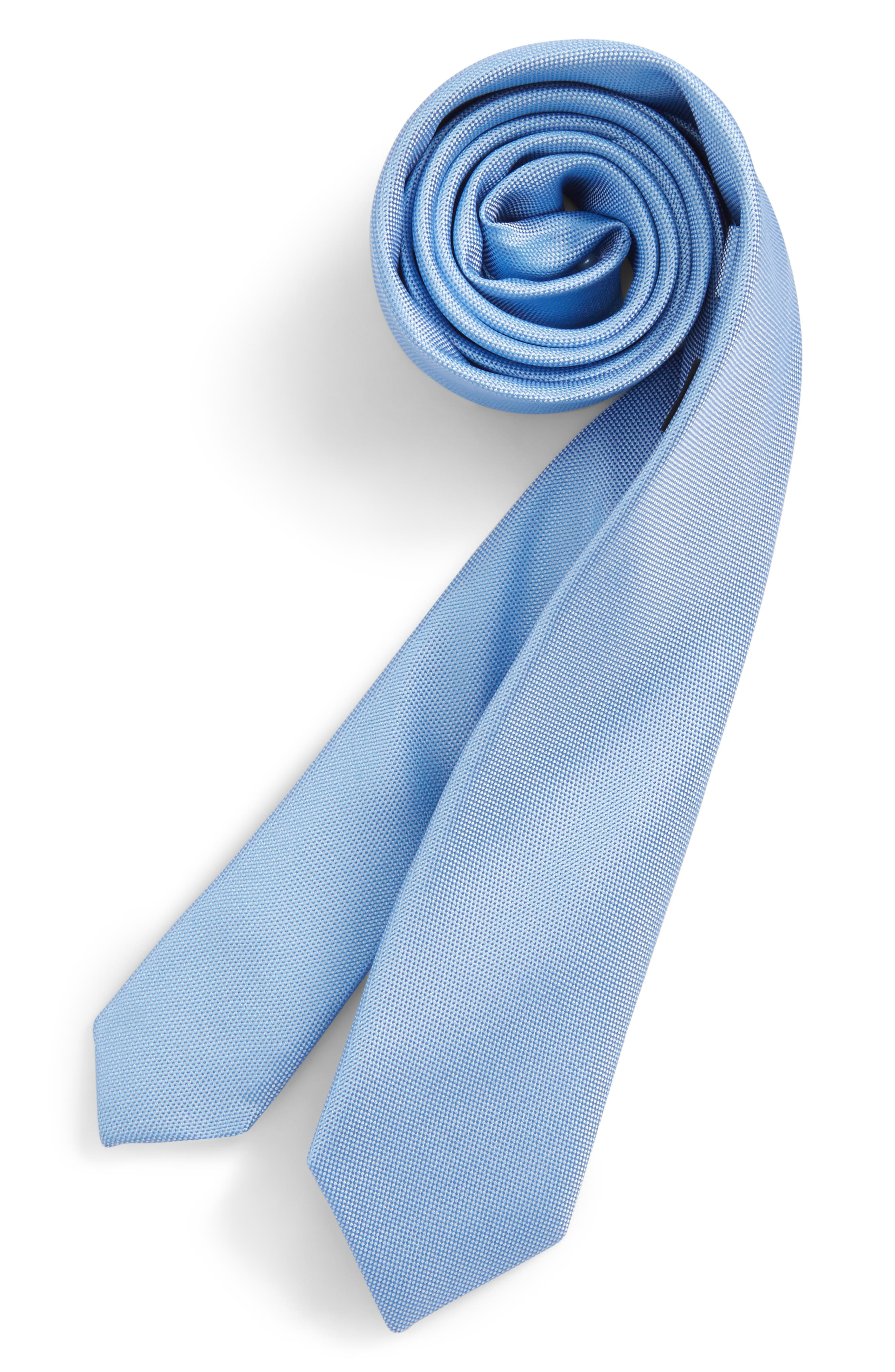 Nordstrom Natte Weave Silk Tie (Big Boys)