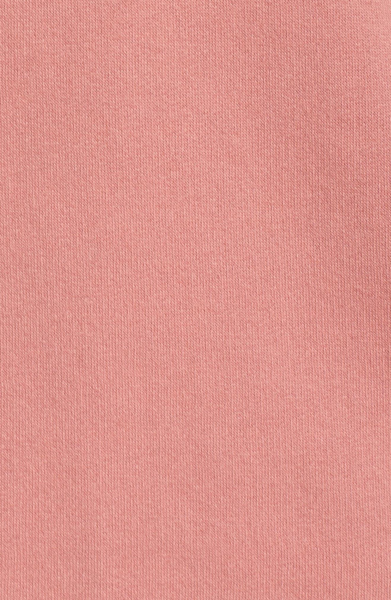 Brunette Crewneck Sweatshirt,                             Alternate thumbnail 6, color,                             Dusty Rose