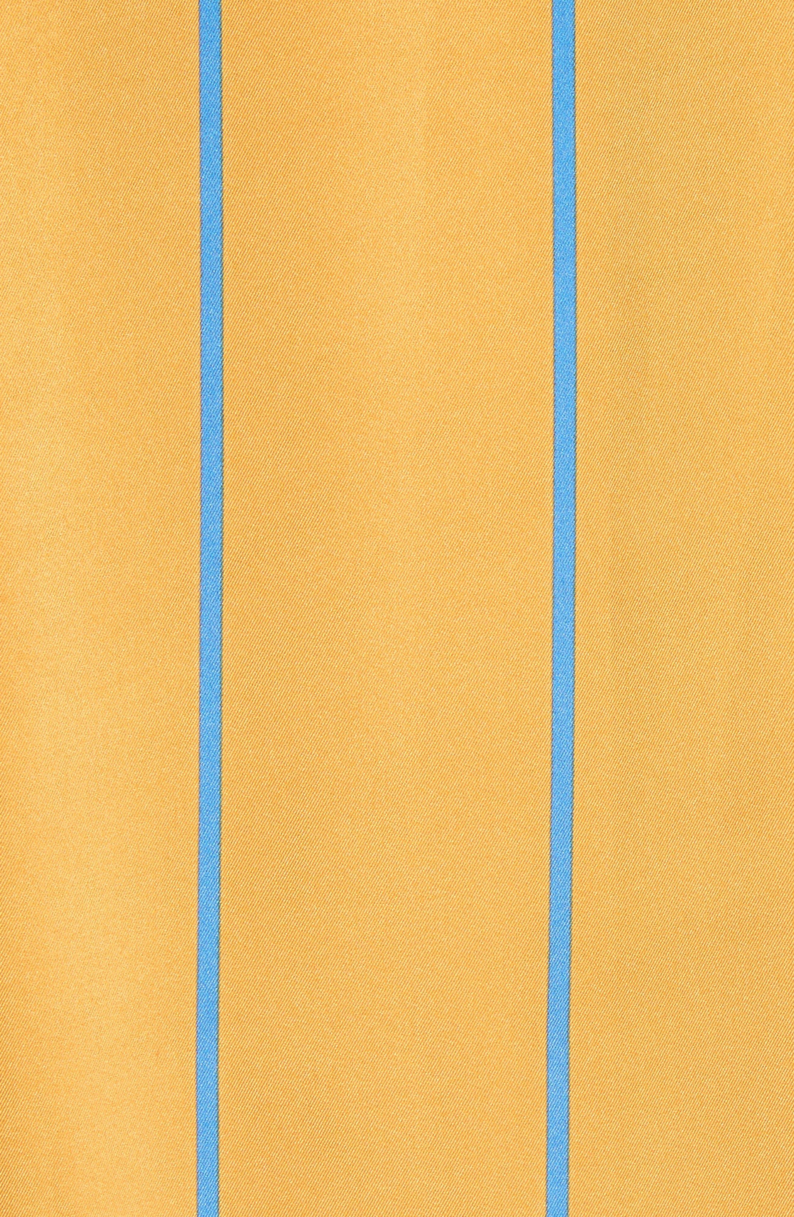 Alternate Image 5  - Victoria, Victoria Beckham Stripe Shirt