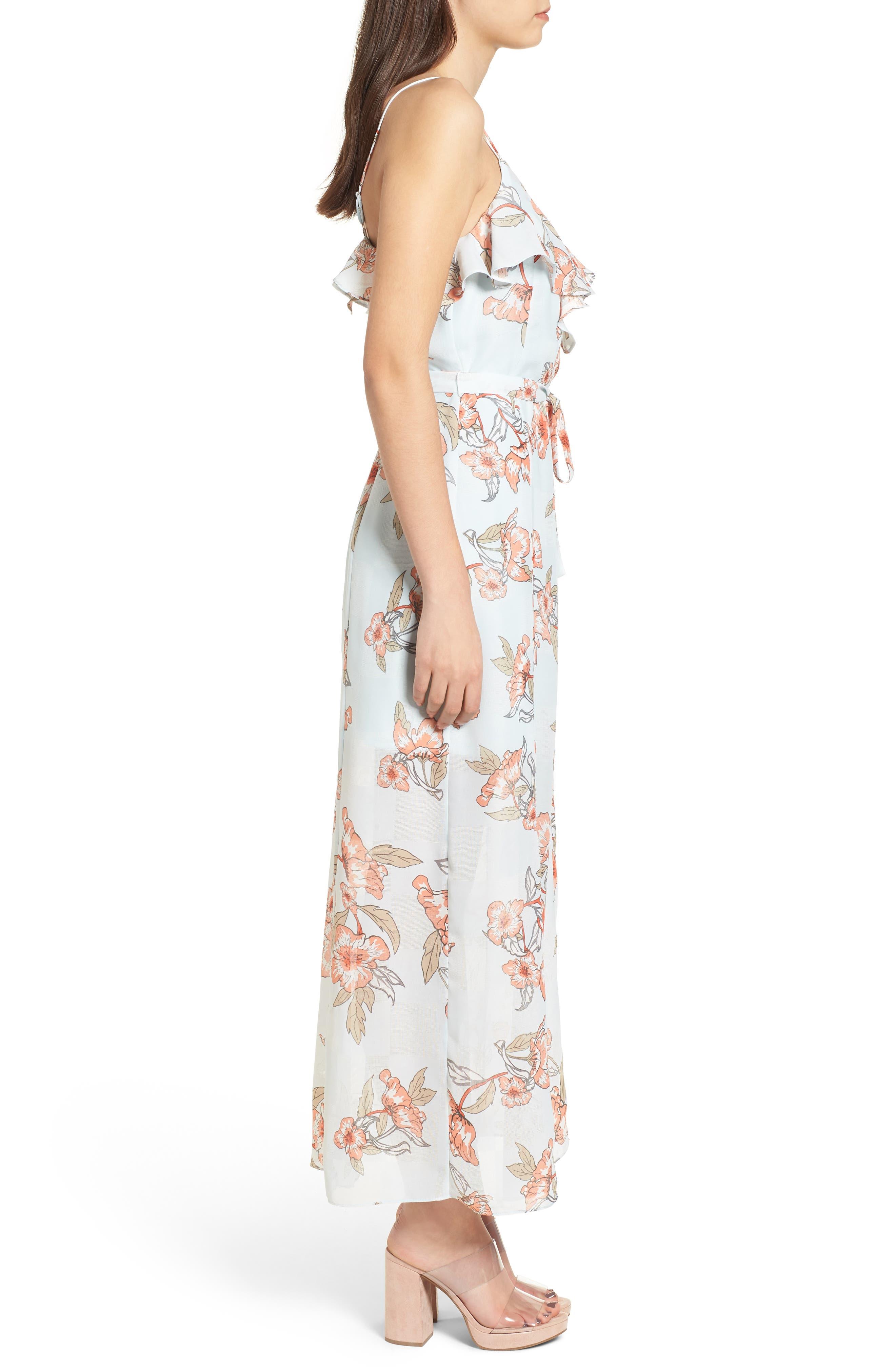 Alternate Image 4  - J.O.A. Ruffle Maxi Dress