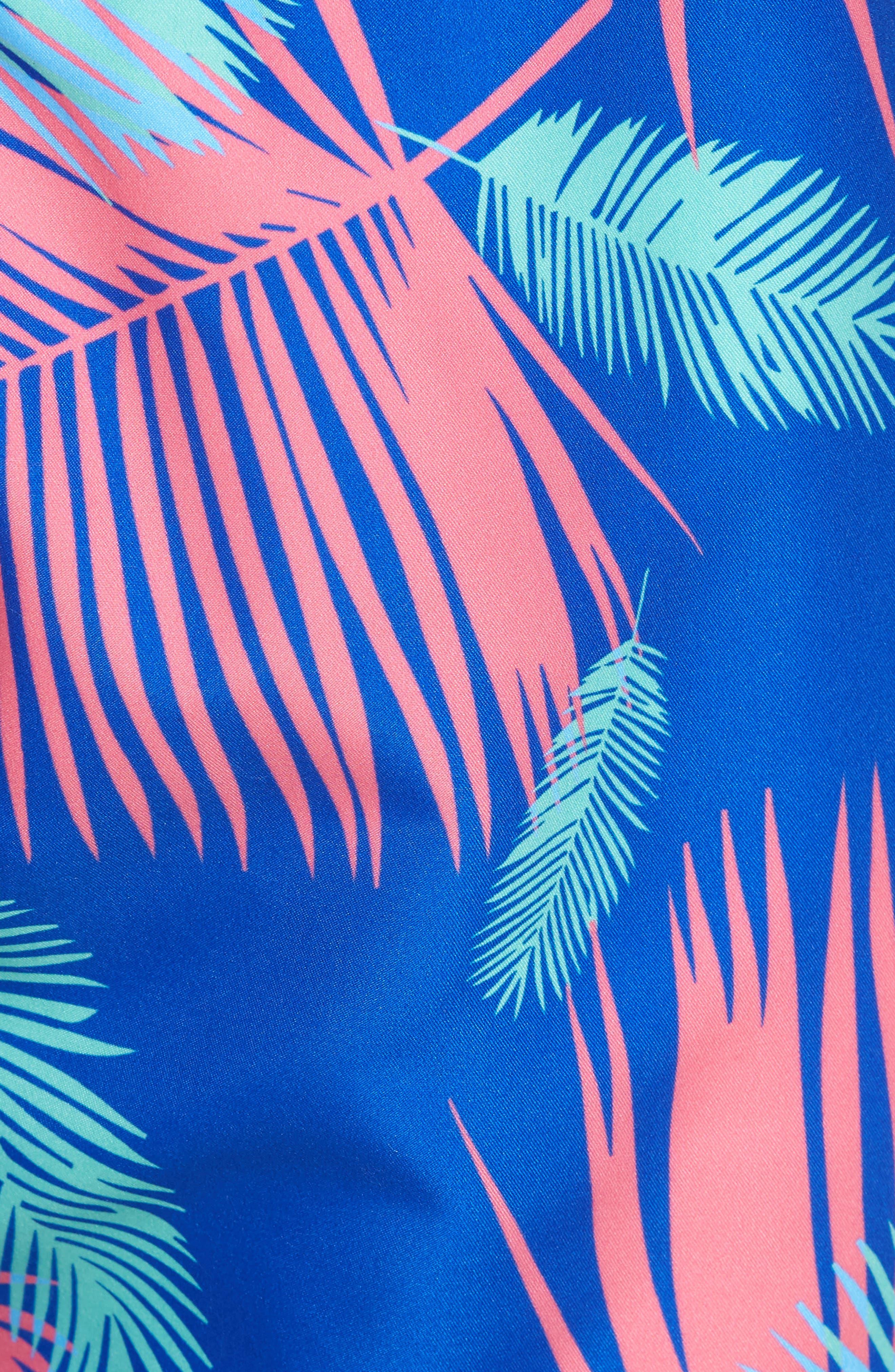 Tropicano Swim Trunks,                             Alternate thumbnail 5, color,                             Multi