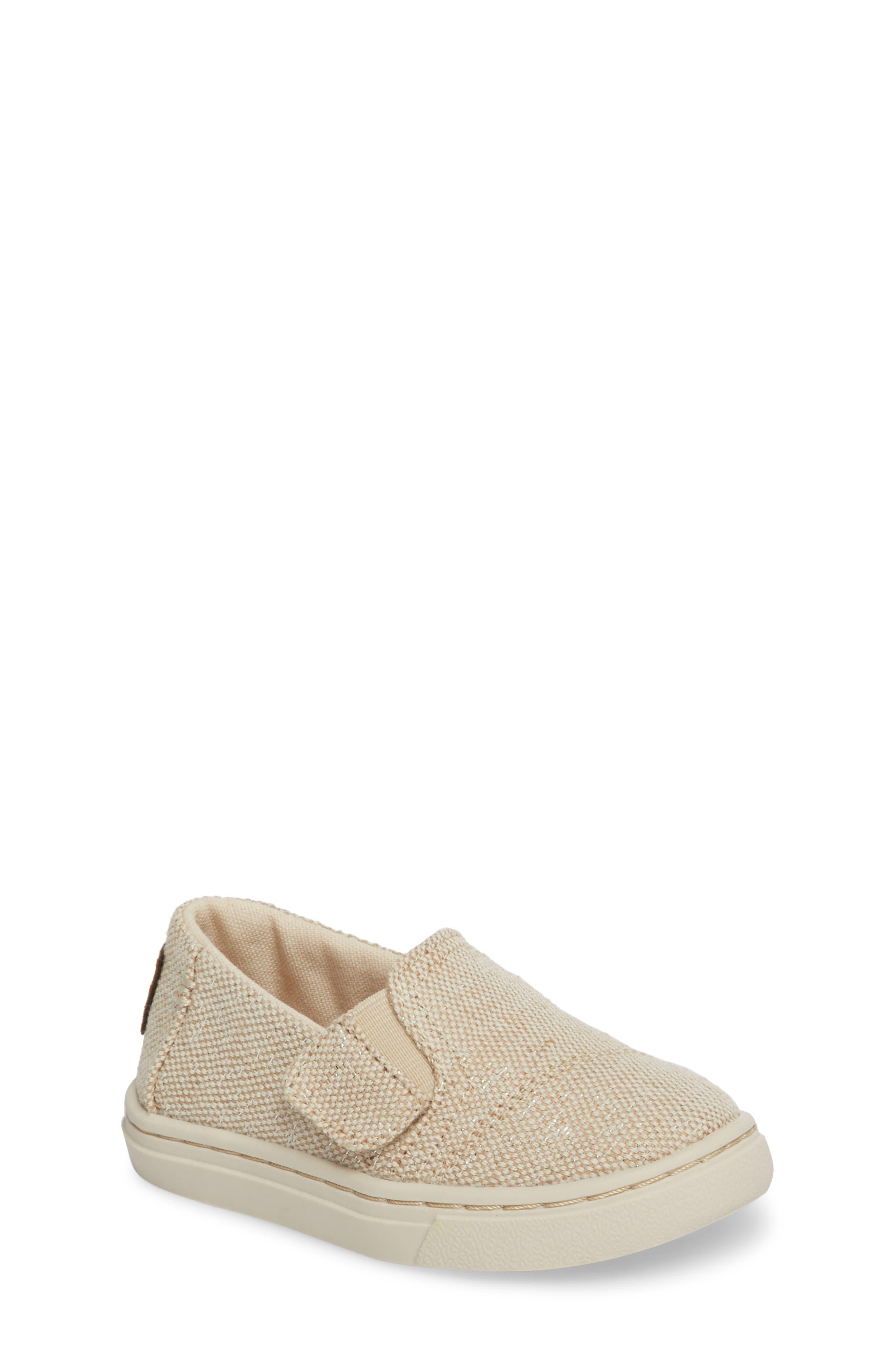 Luca Slip-On Sneaker,                         Main,                         color, Natural Metallic Jute