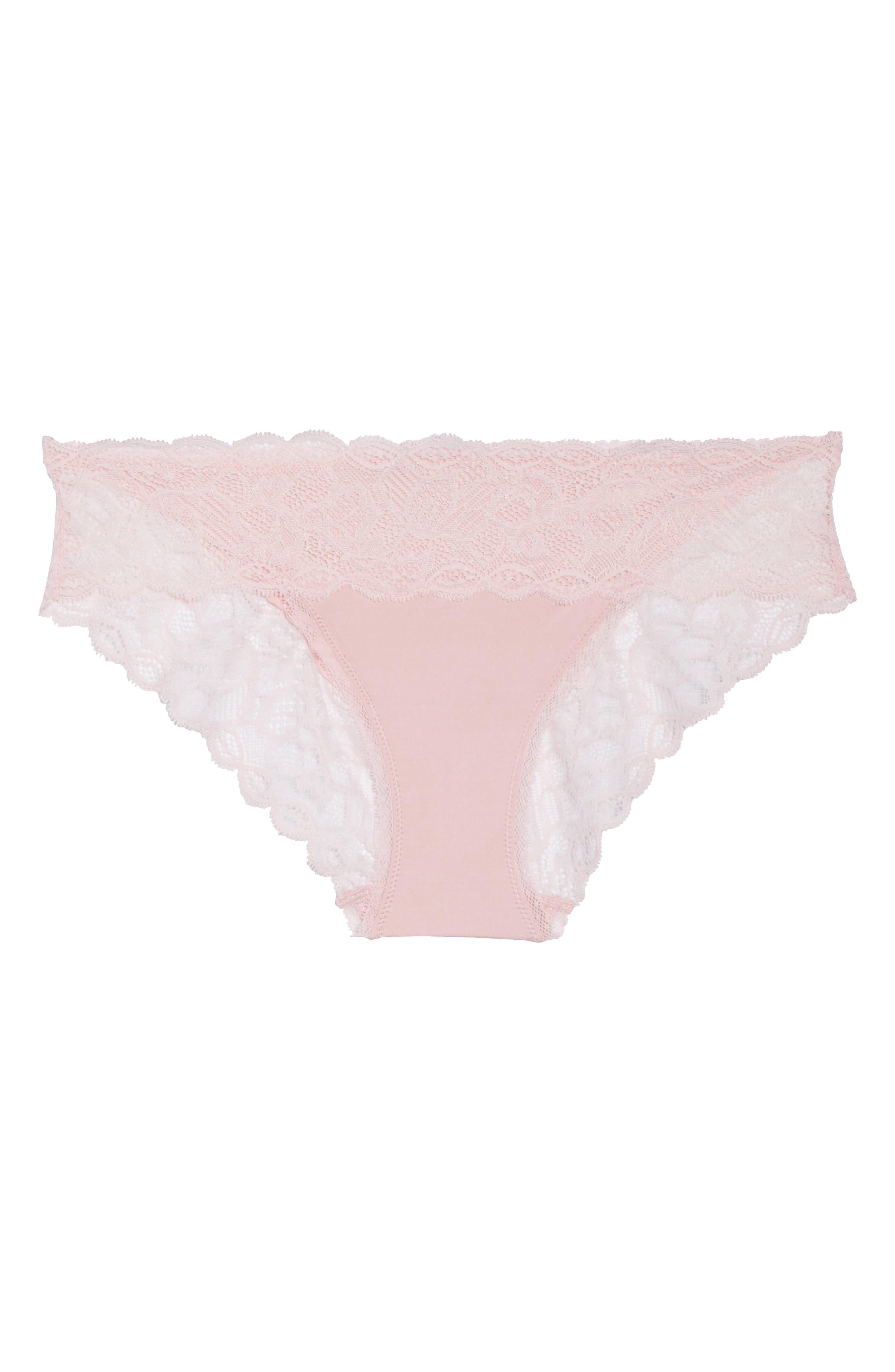 Seductive Comfort Lace Bikini,                             Alternate thumbnail 4, color,                             Attract