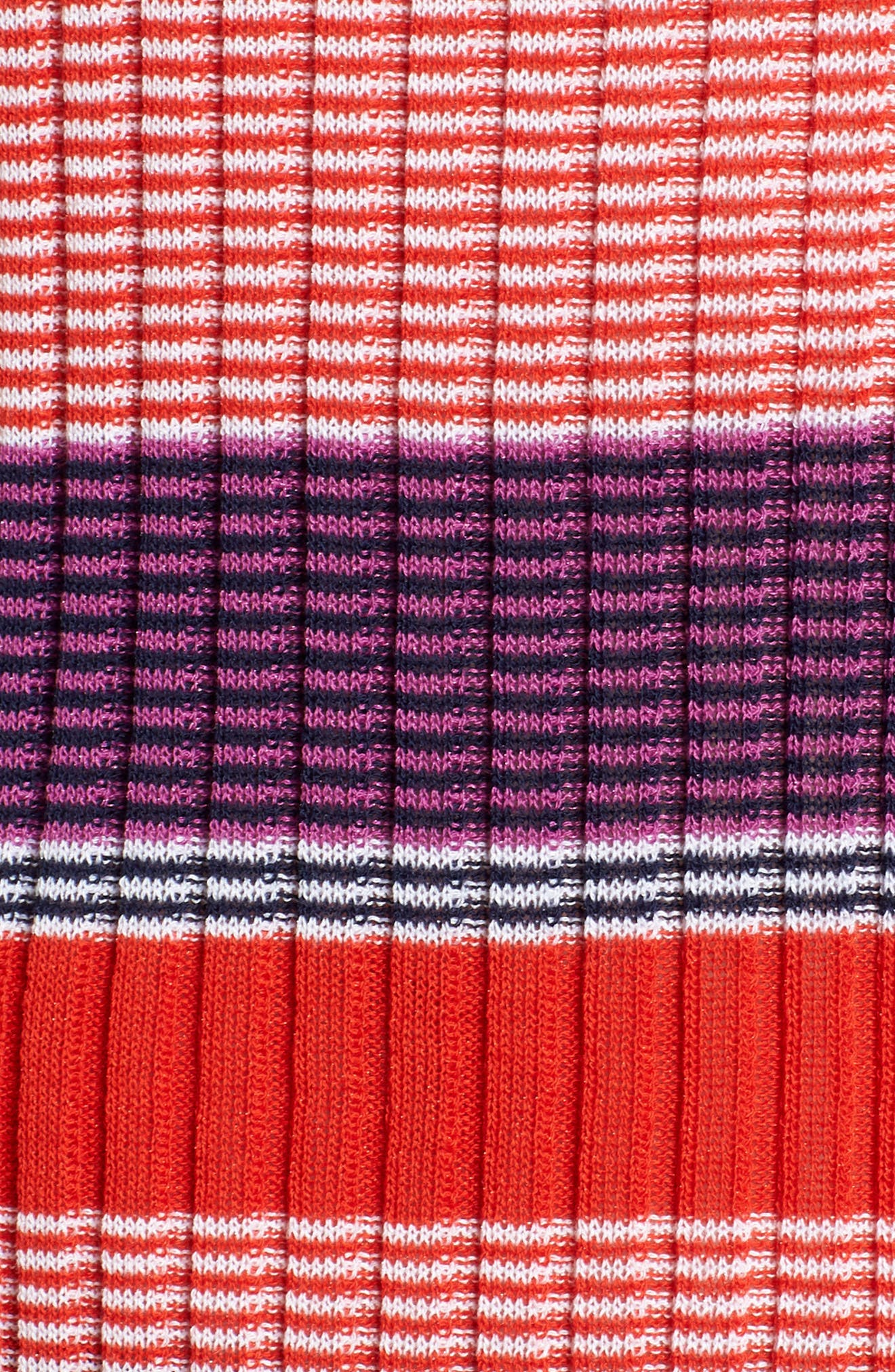Fallegria Stripe Sweater,                             Alternate thumbnail 7, color,                             Black Fantasy