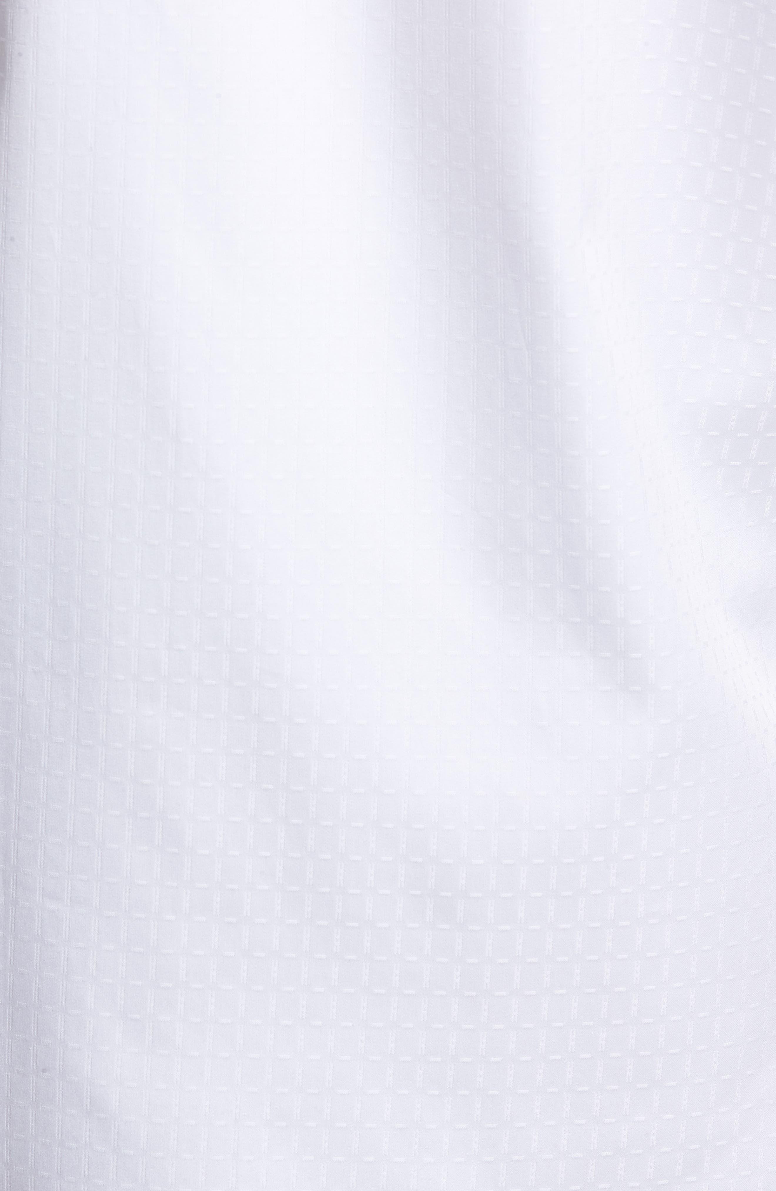 Classic Fit Woven Sport Shirt,                             Alternate thumbnail 5, color,                             White