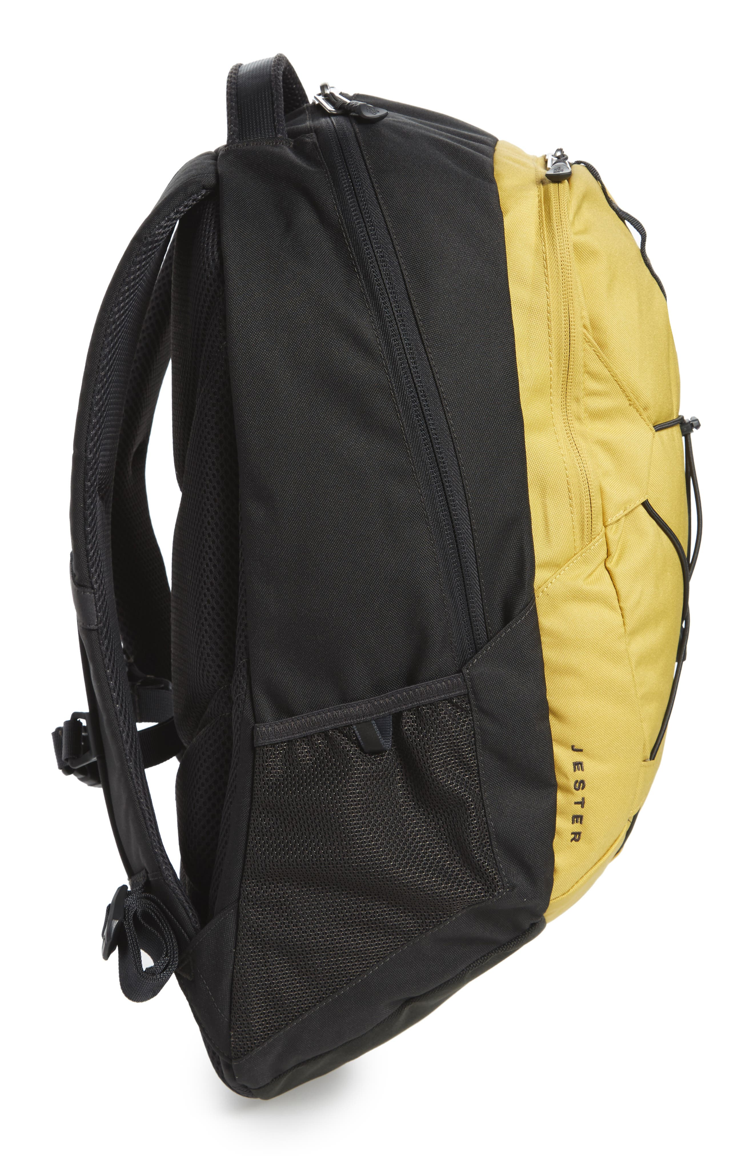 'Jester' Backpack,                             Alternate thumbnail 5, color,                             Olivenite Yellow/ Asphalt Grey