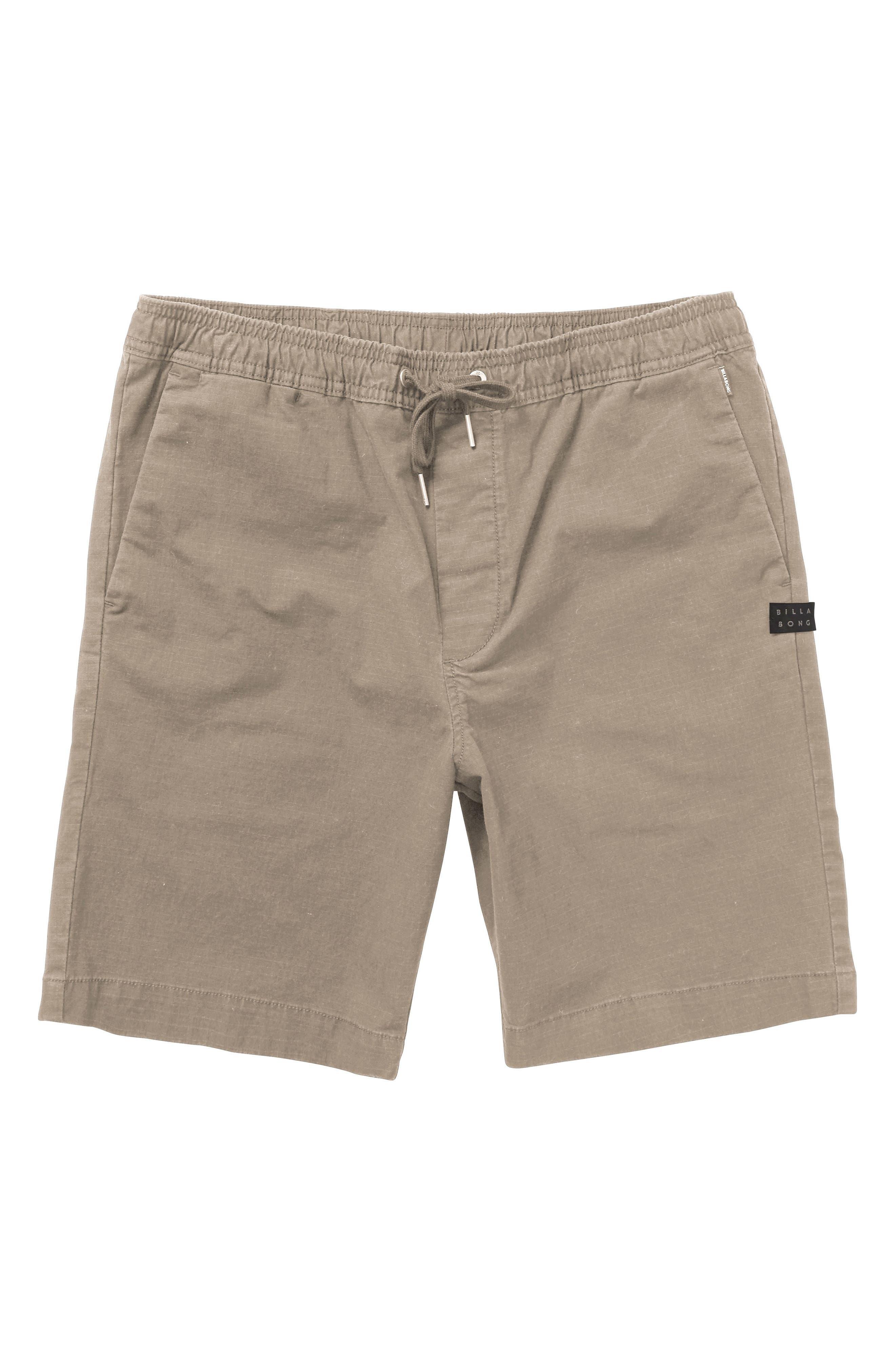 Larry Layback Shorts,                         Main,                         color, Light Khaki