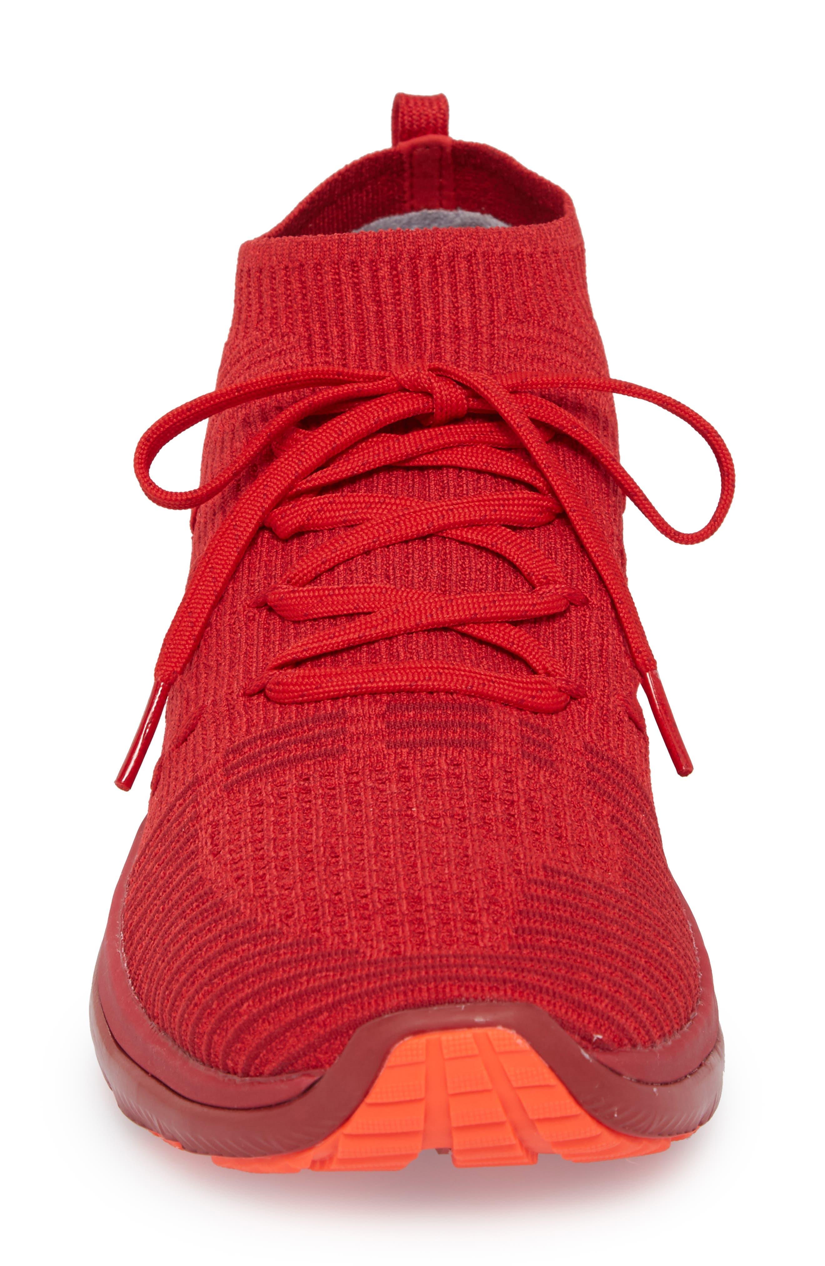 Slingflex Rise Sneaker,                             Alternate thumbnail 4, color,                             Pierce/ Spice Red