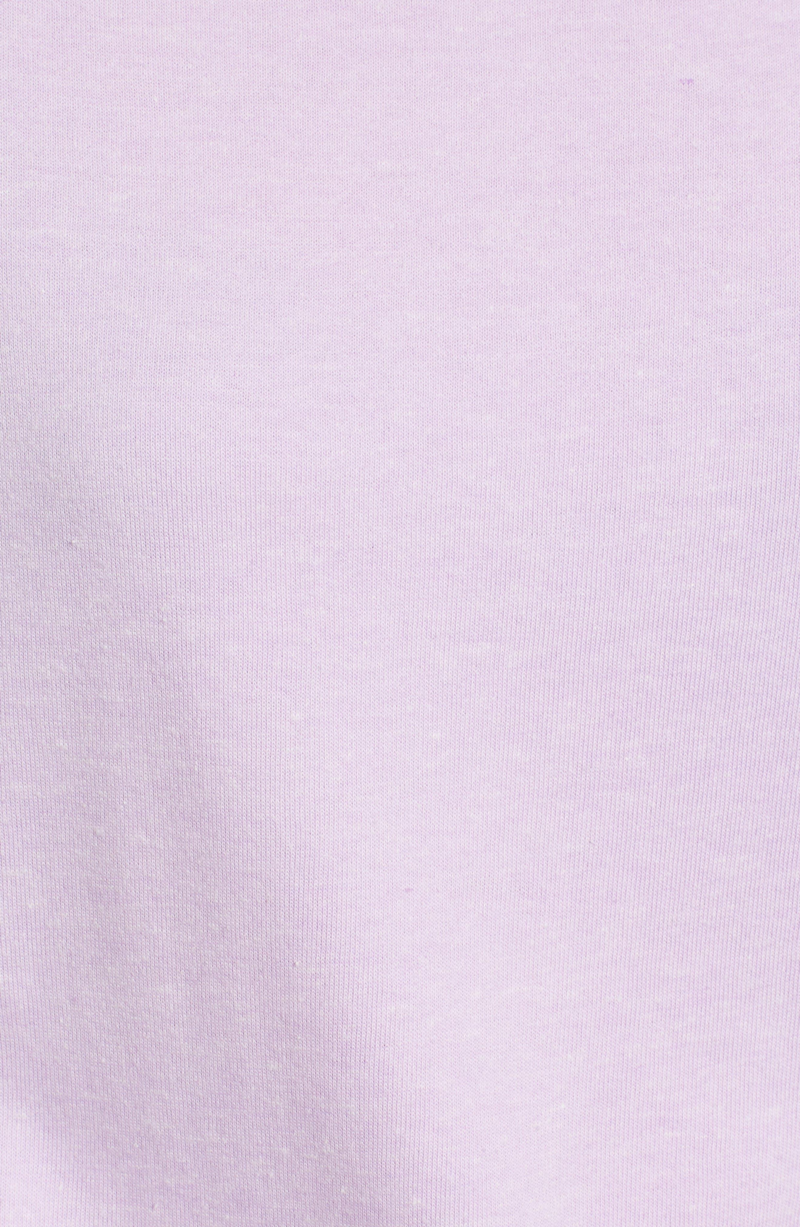 Slouch Sweatshirt,                             Alternate thumbnail 5, color,                             Pop Lavender
