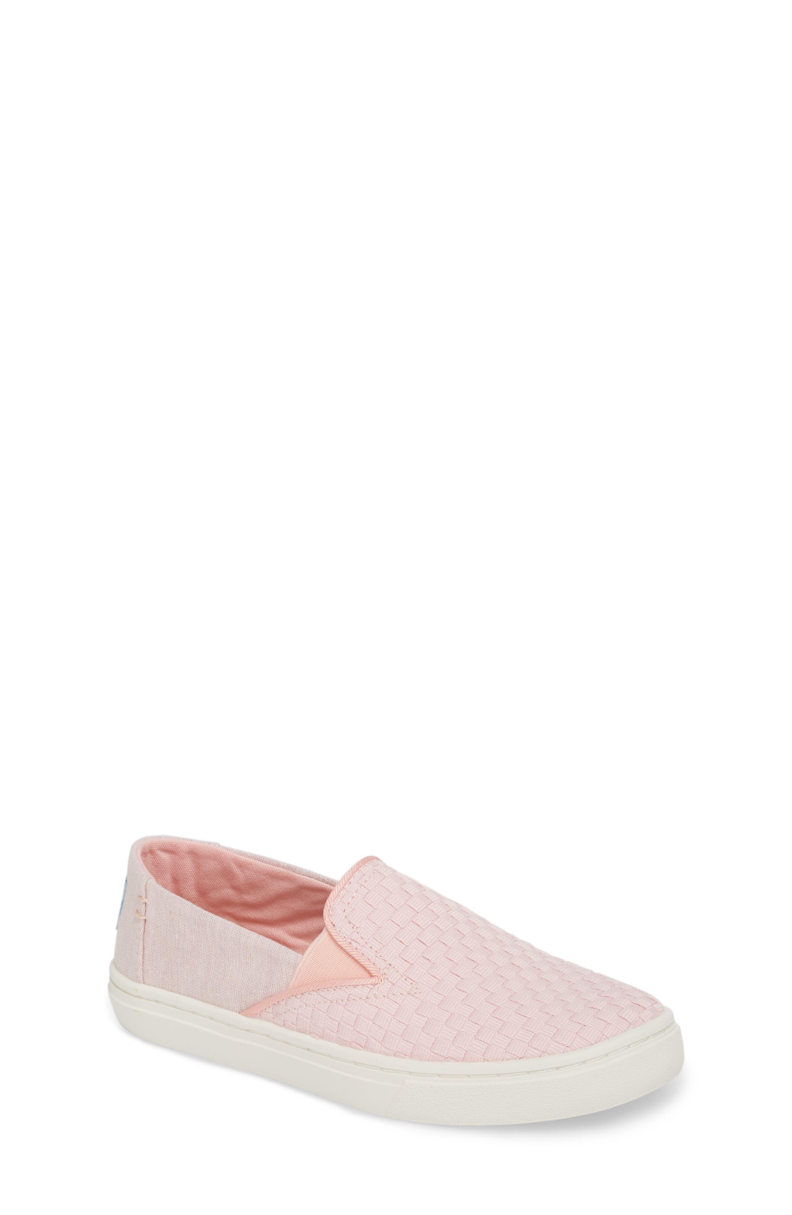 Luca Slip-On Sneaker,                             Main thumbnail 1, color,                             Blossom Basketweave