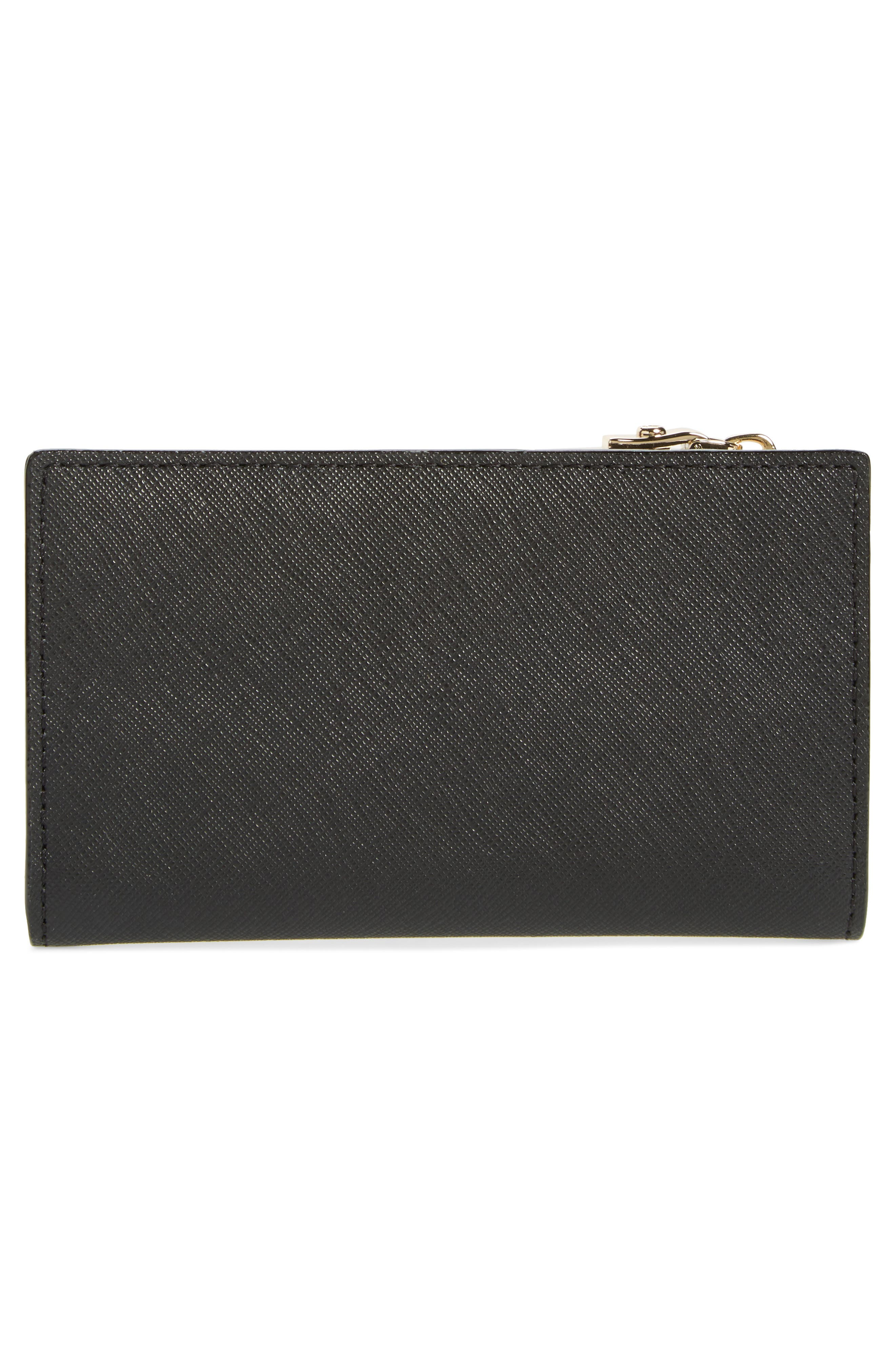 cameron street - mikey leather wallet,                             Alternate thumbnail 4, color,                             Black
