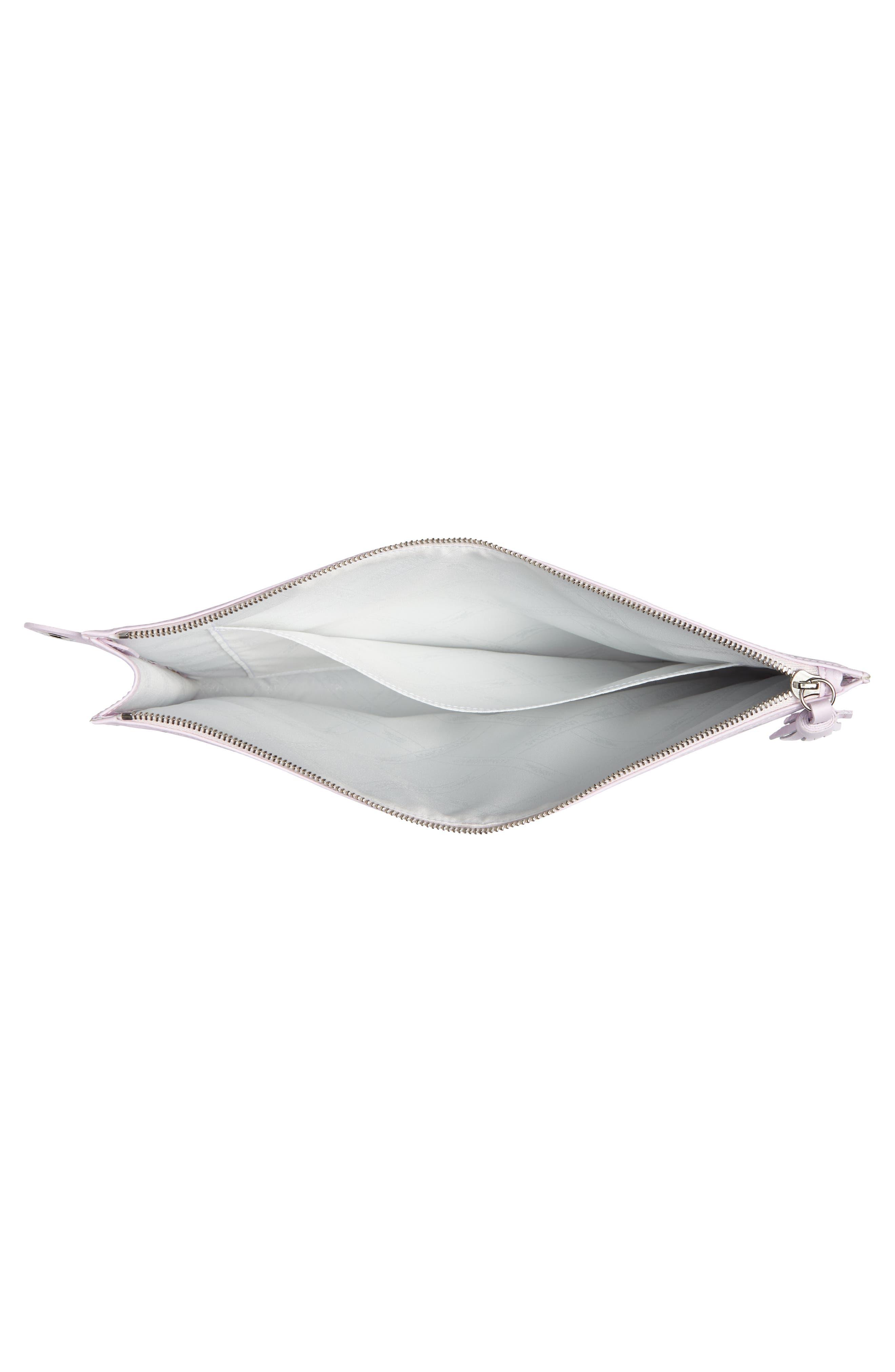 Alternate Image 4  - Longchamp Small St. Valentin Leather Wristlet